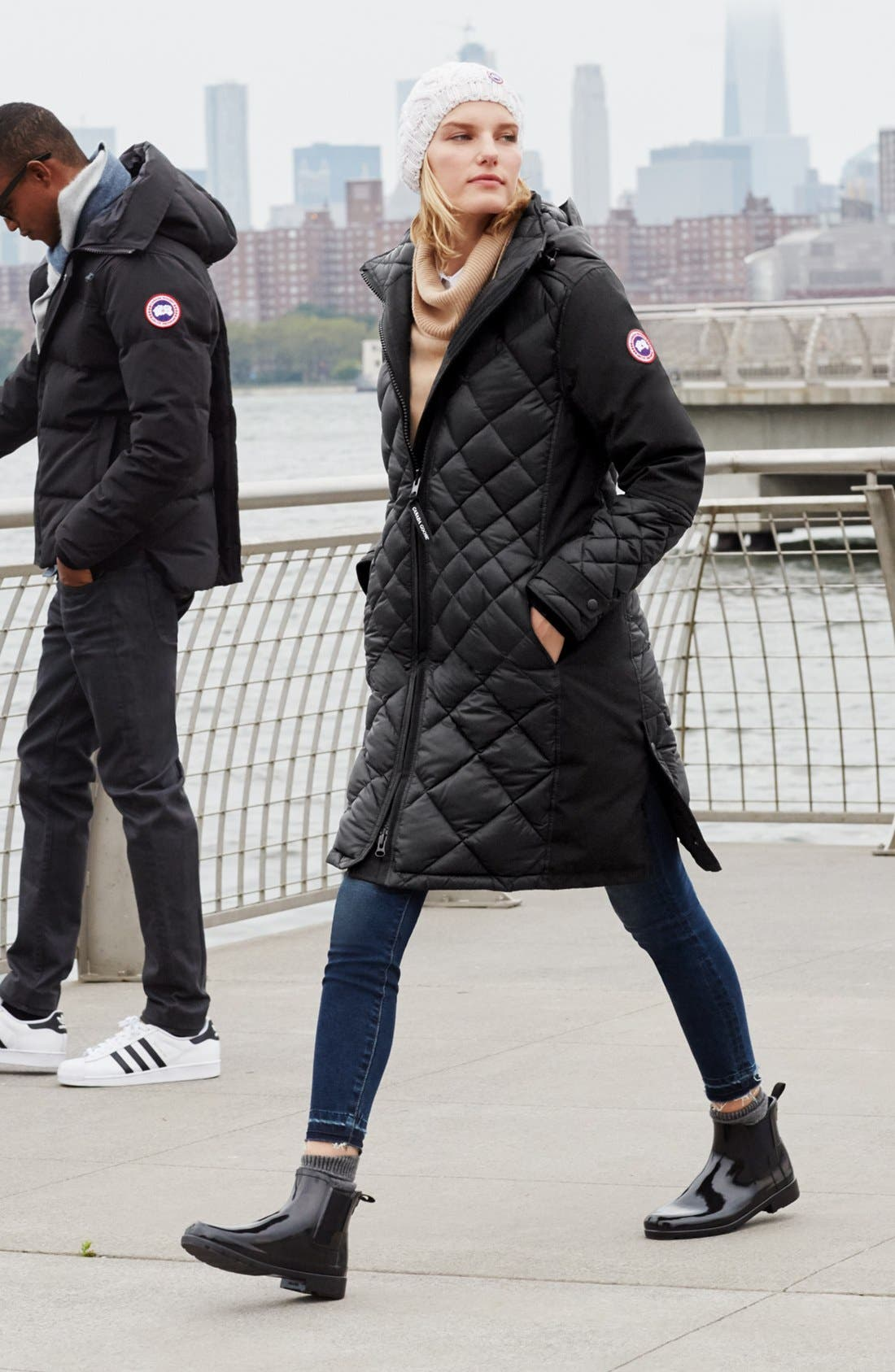 Canada Goose Parka Outfit with Accessories
