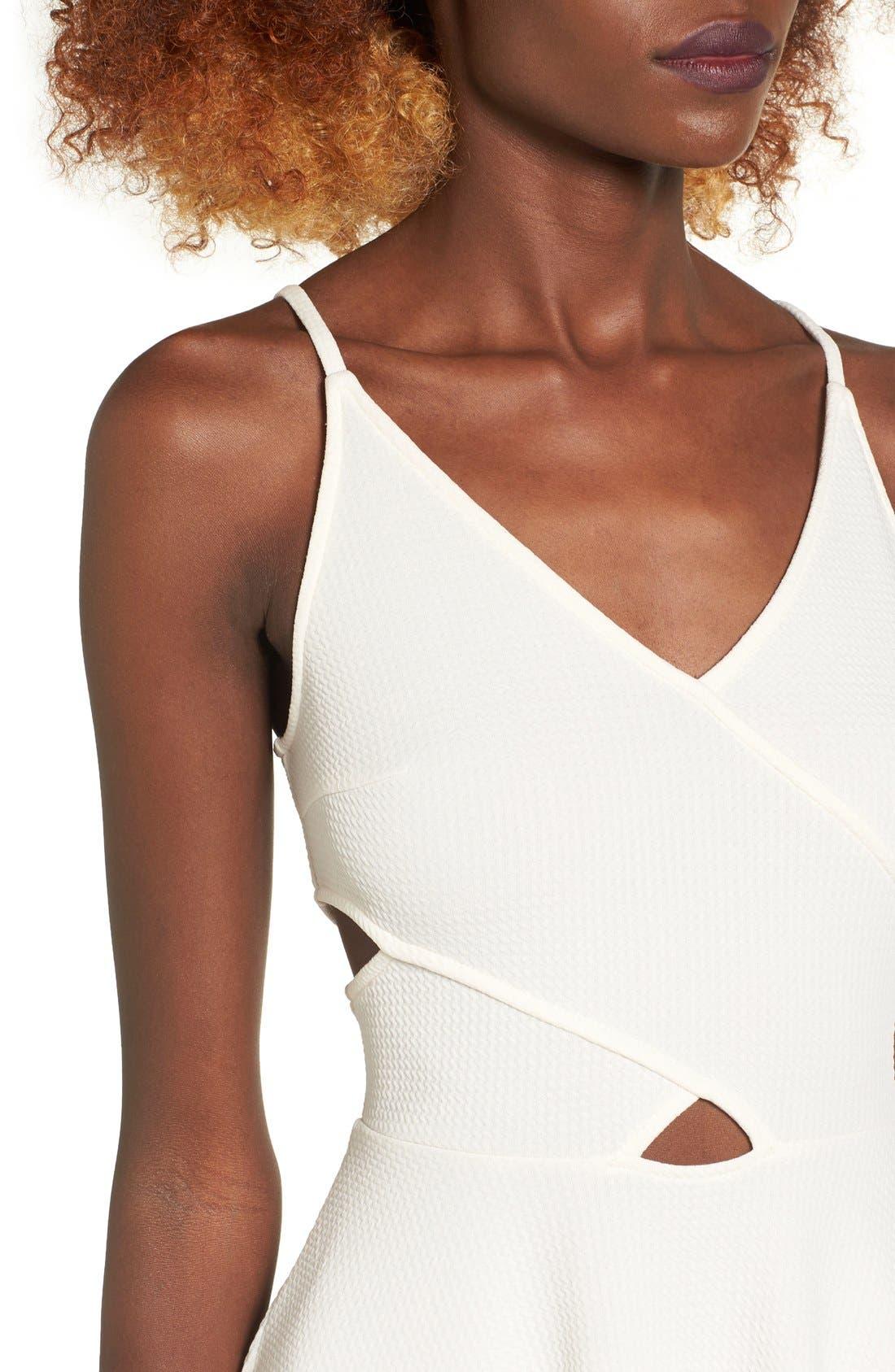 Alternate Image 4  - Soprano Cutout Midi Dress