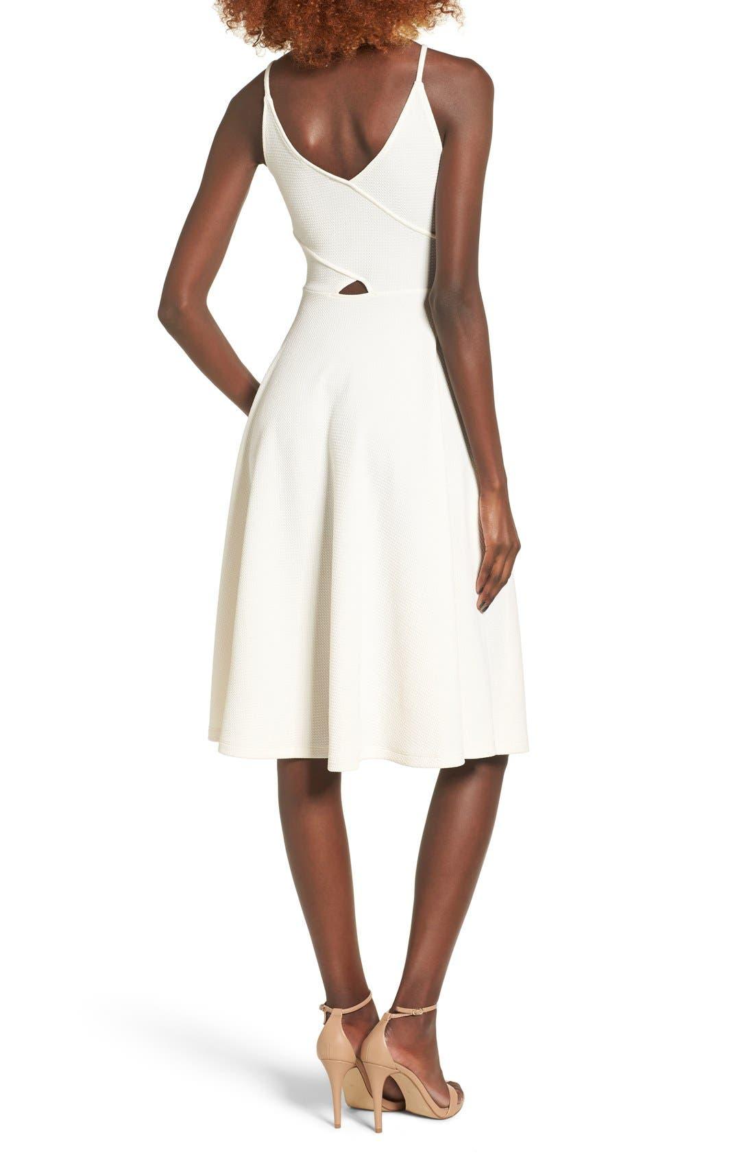 Alternate Image 2  - Soprano Cutout Midi Dress