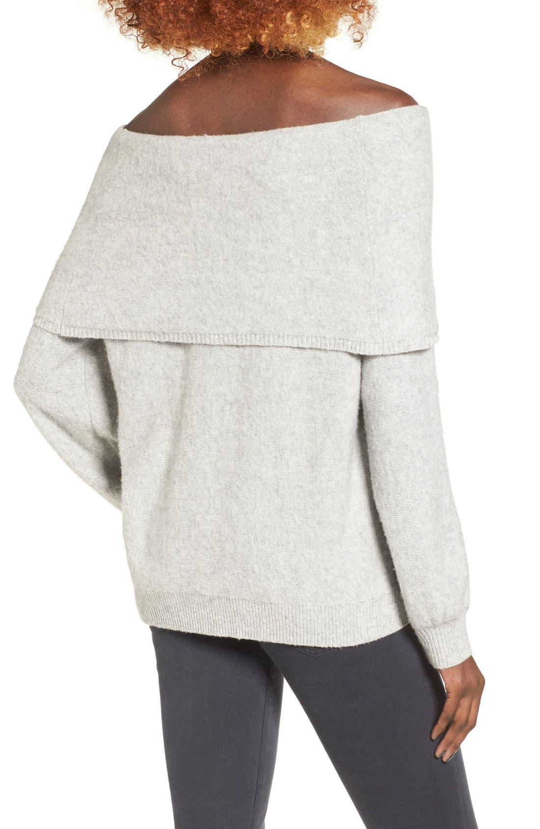 Alternate Image 2  - Leith Off the Shoulder Sweater