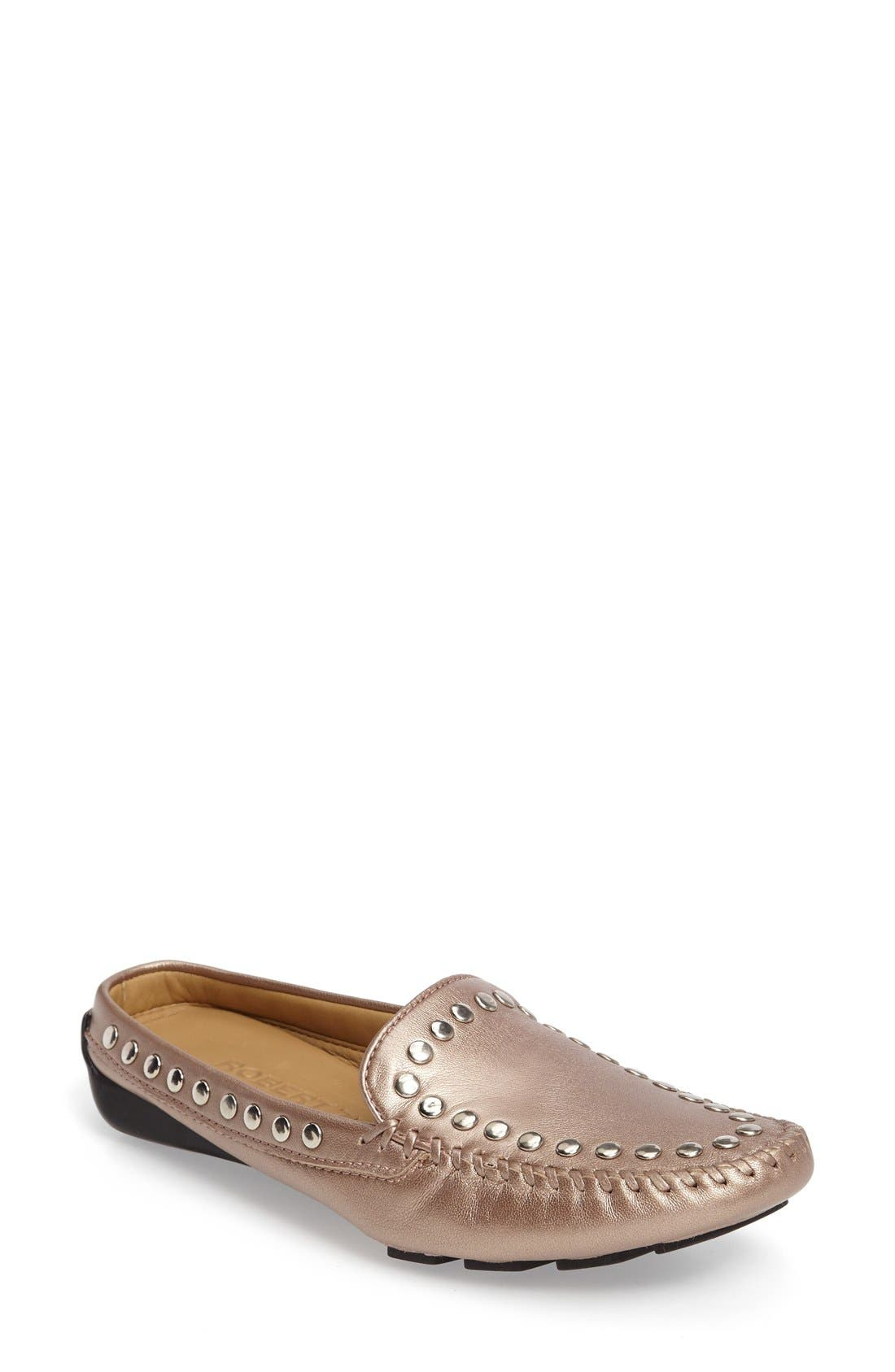 Robert Zur Star Studded Slide Loafer (Women)