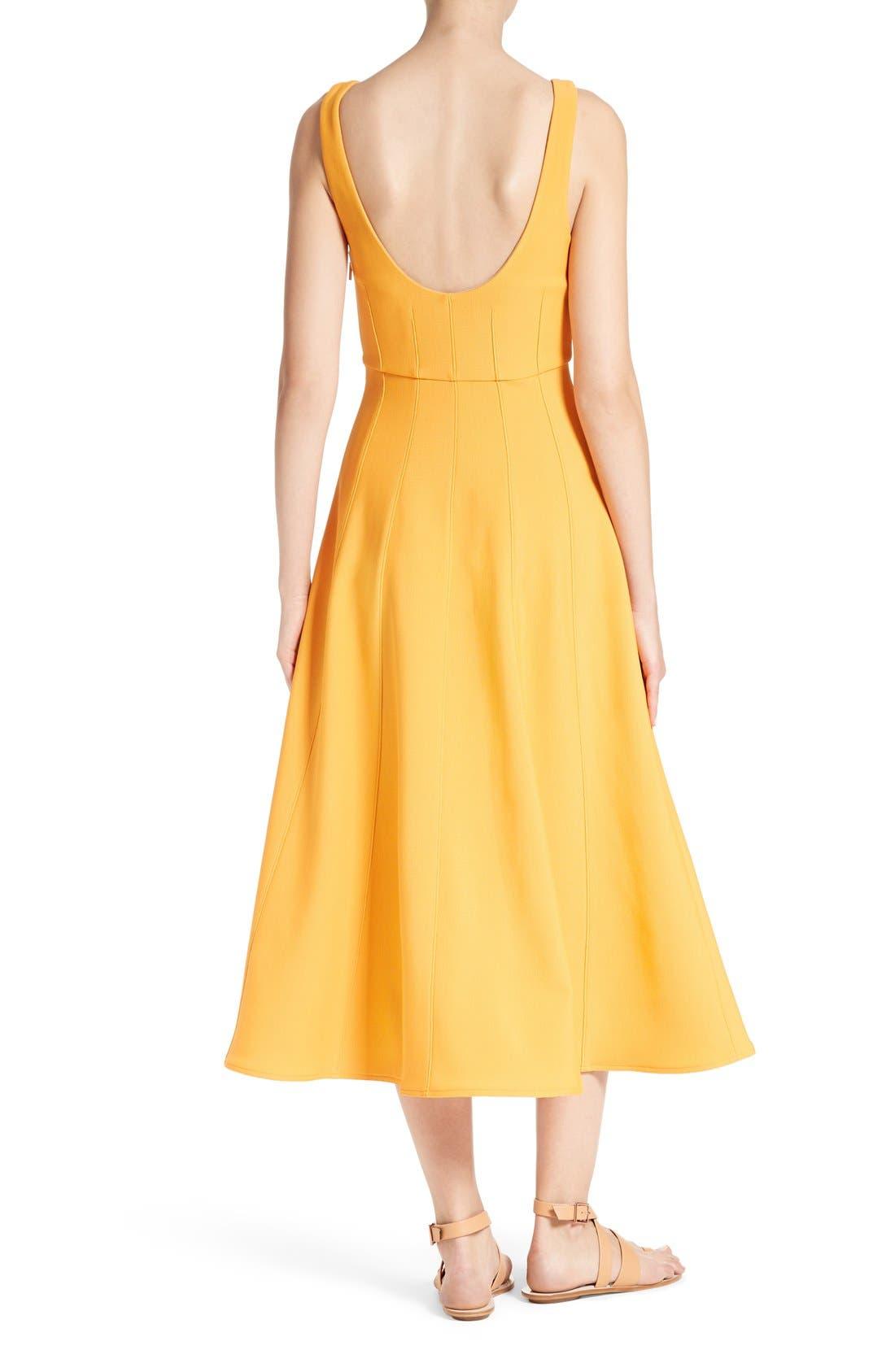 Alternate Image 2  - Tibi Corset Structured Midi Dress