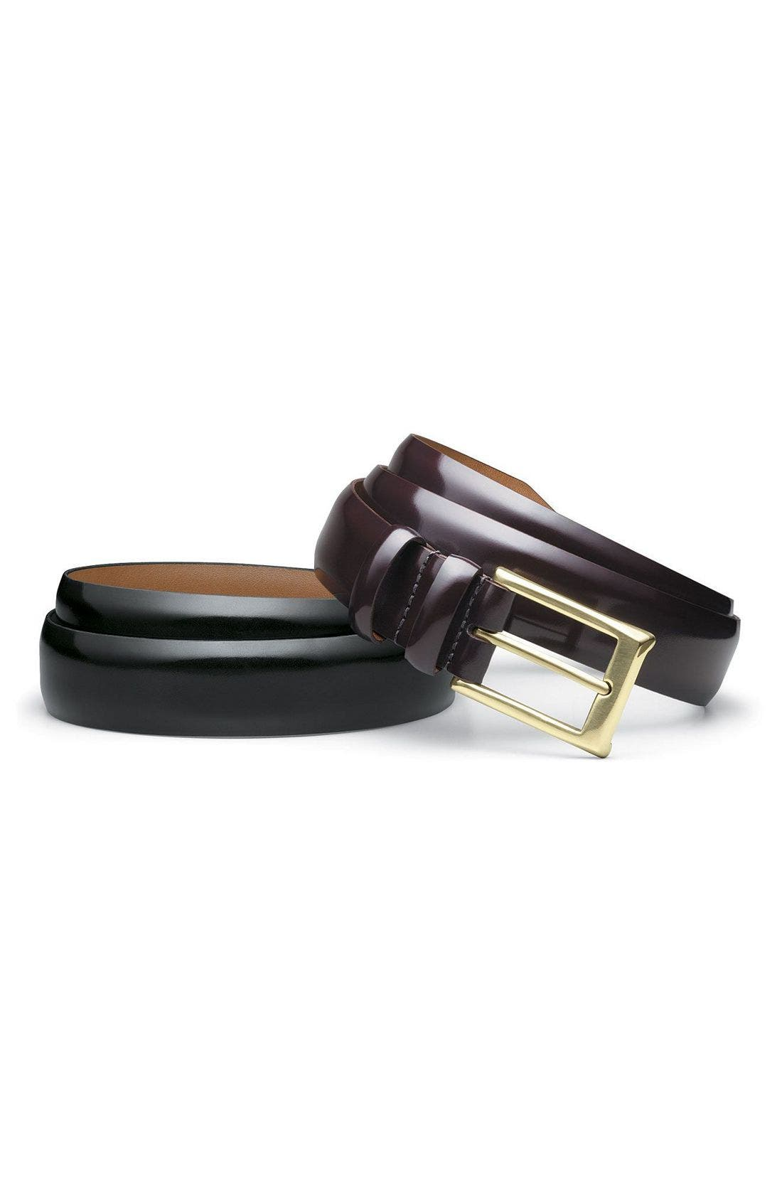 Alternate Image 2  - Allen Edmonds Polished Cobbler Belt