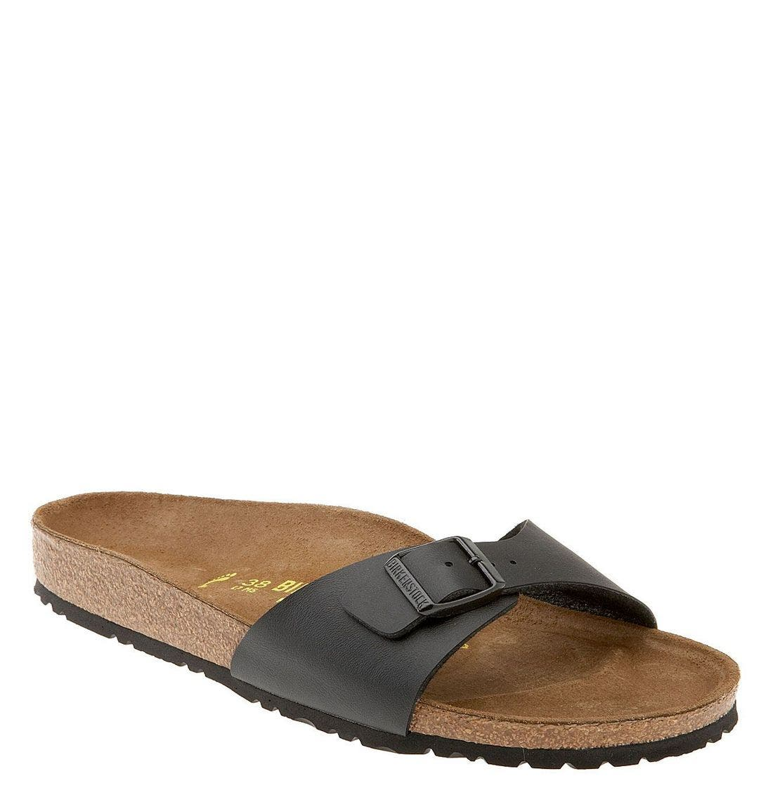 Alternate Image 1 Selected - Birkenstock 'Madrid' Birko-Flor™ Sandal (Women)