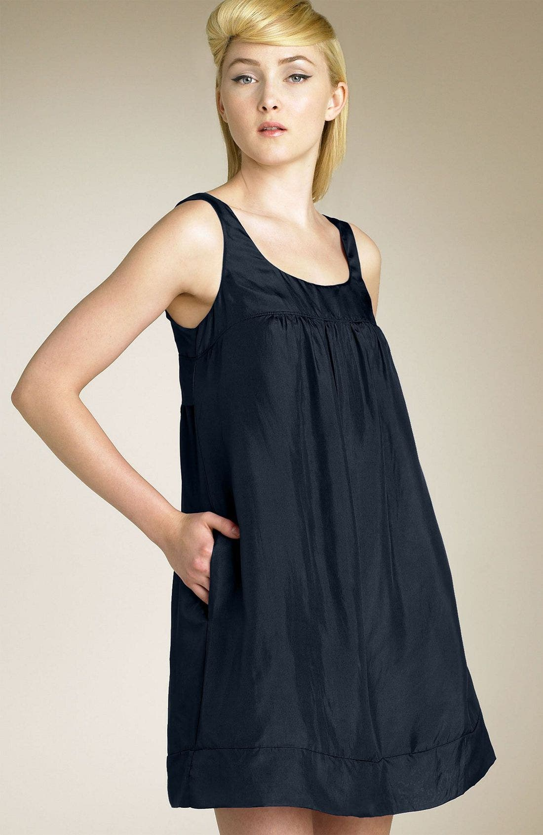 Main Image - Graham & Spencer Silk Habutai Dress
