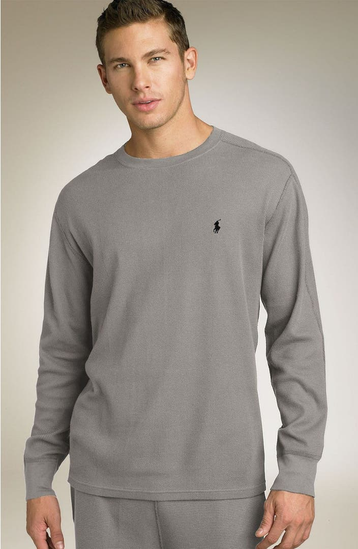 polo ralph lauren long sleeve thermal shirt nordstrom