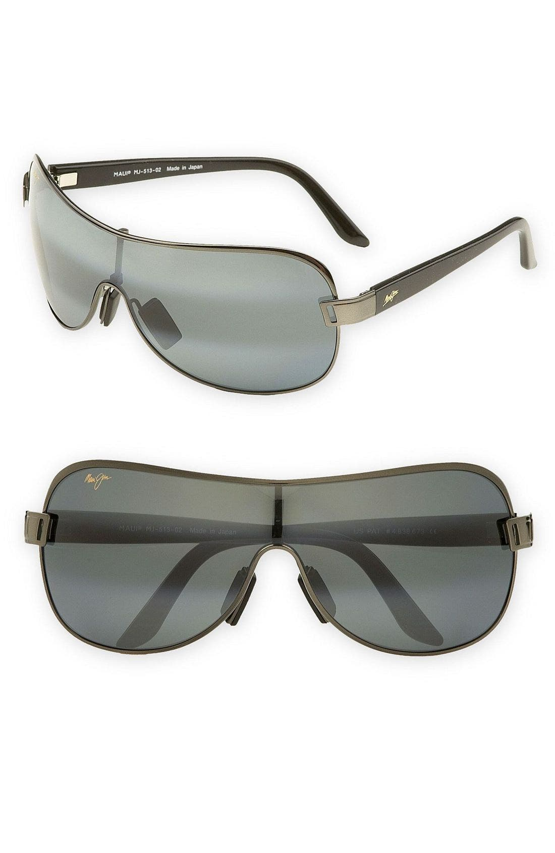 Main Image - Maui Jim 'Maka - PolarizedPlus®2' 65mm Shield Sunglasses