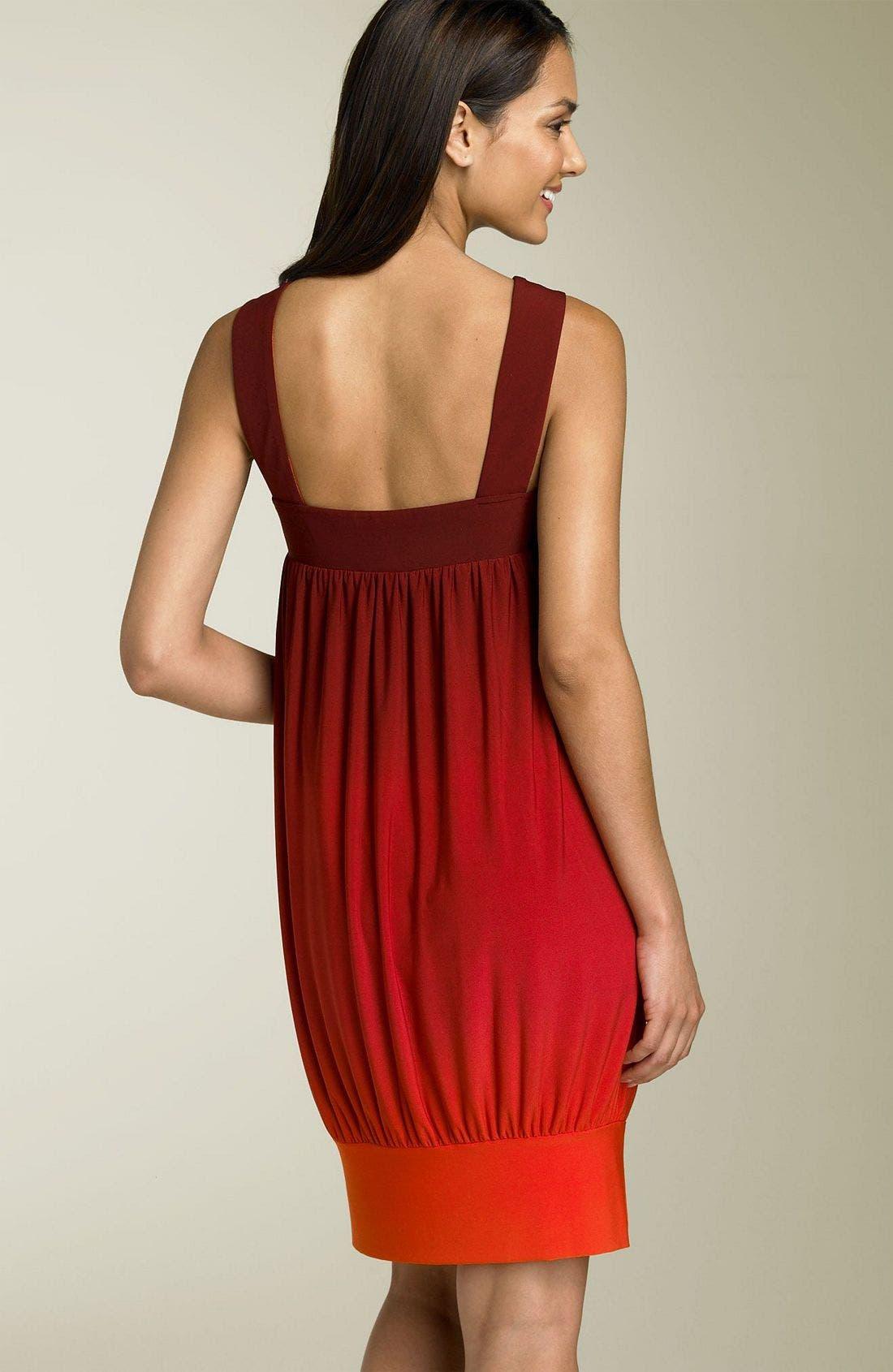 Alternate Image 2  - Donna Morgan Sleeveless Ombré Dress