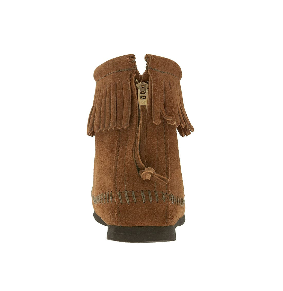 Alternate Image 4  - Minnetonka Fringed Short Boot