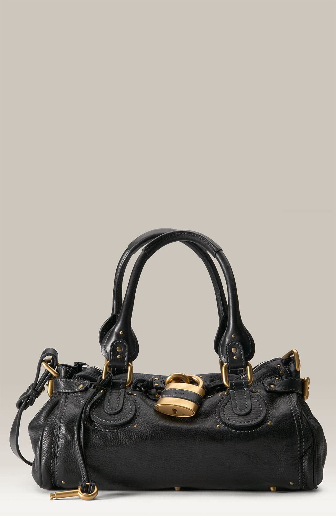 Main Image - Chloé 'Paddington' Leather Padlock Satchel