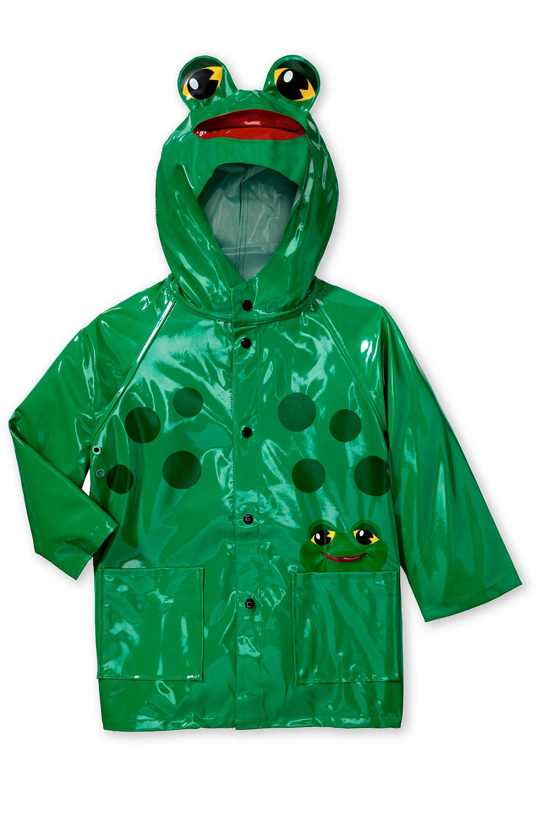 Alternate Image 1 Selected - Western Chief 'Frog' Raincoat (Toddler & Little Kid)