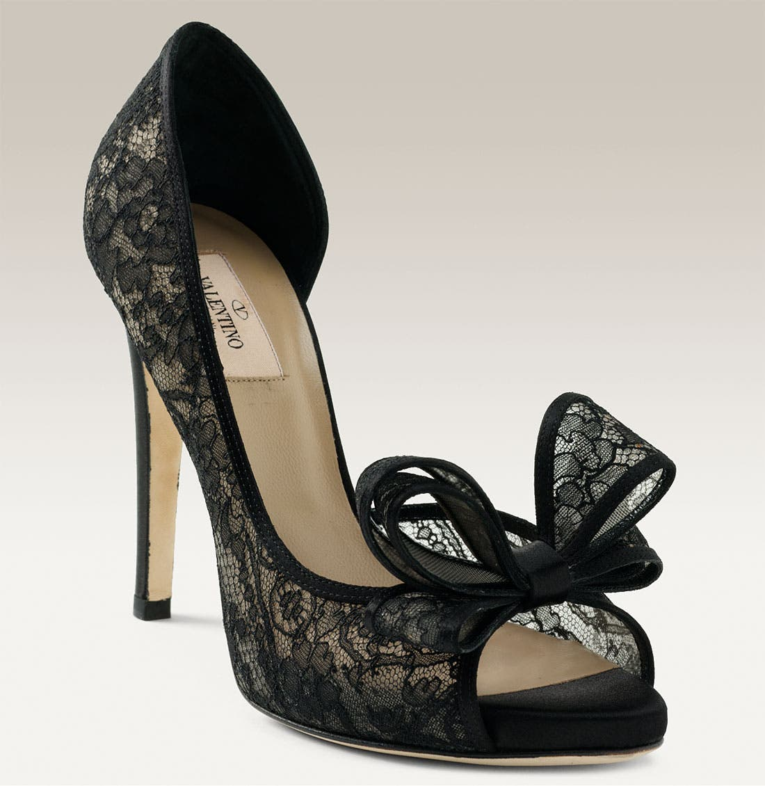 Alternate Image 1 Selected - Valentino Lace d'Orsay Pump