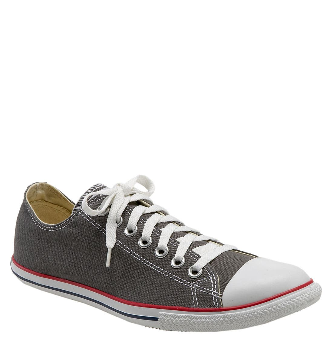 Alternate Image 1 Selected - Converse Chuck Taylor® 'Slim' Low Top Leather Sneaker (Men)