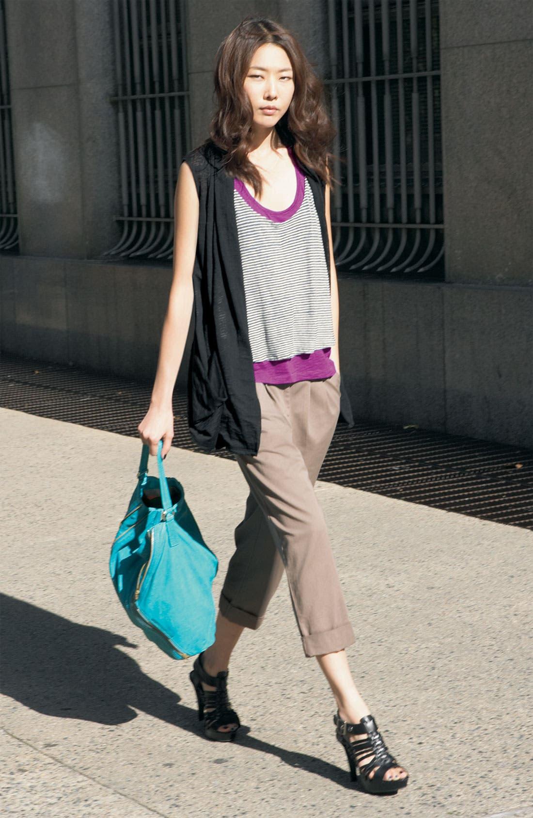 Alternate Image 5  - Hinge® Roll Cuff Cotton Pants