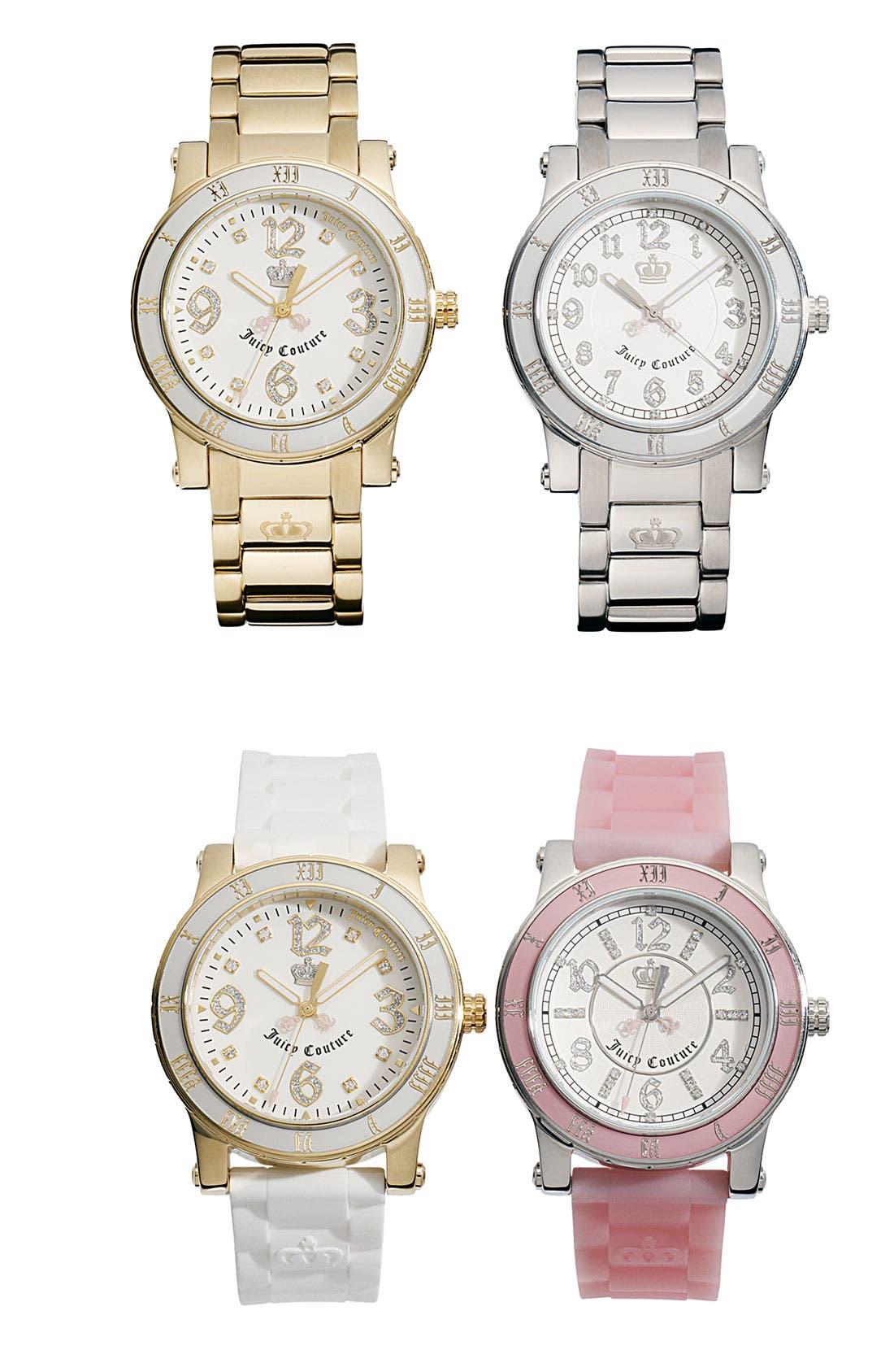 Alternate Image 2  - Juicy Couture 'HRH' Bracelet Watch