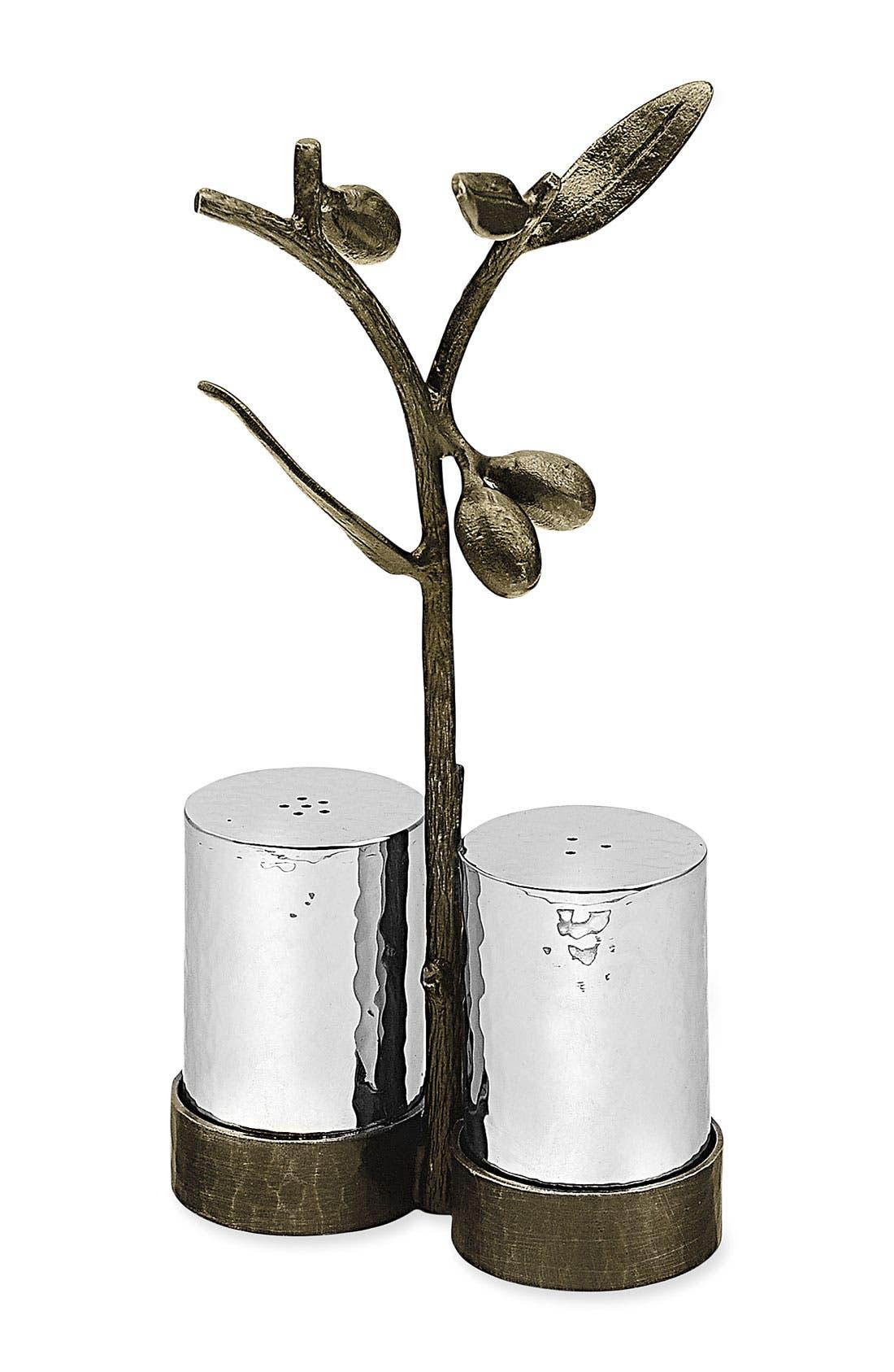 Alternate Image 1 Selected - Michael Aram 'Olive Branch' Salt & Pepper Caddy