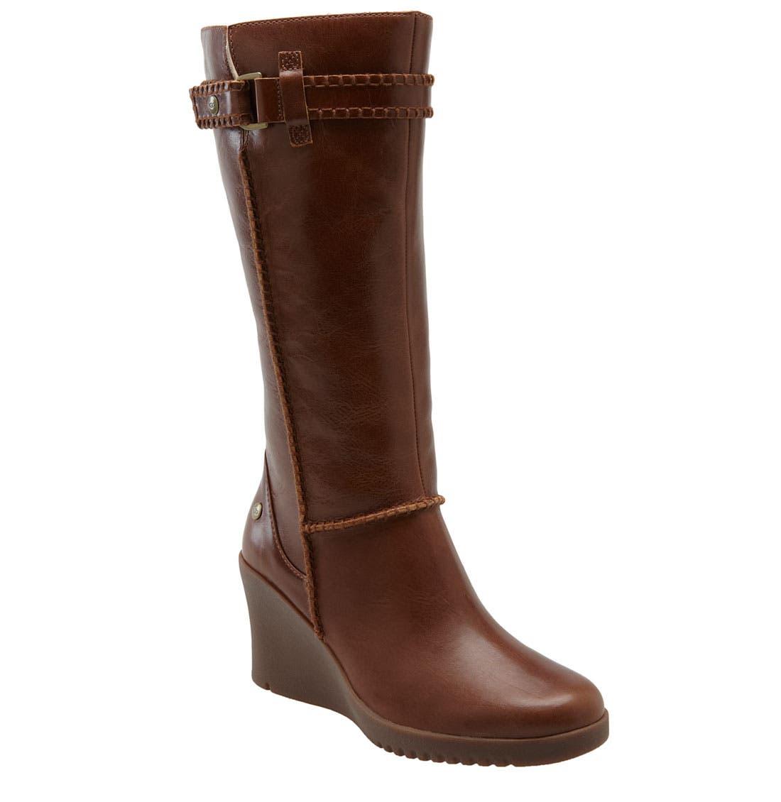 Alternate Image 1 Selected - UGG® Australia 'Maxene' Wedge Boot (Women)