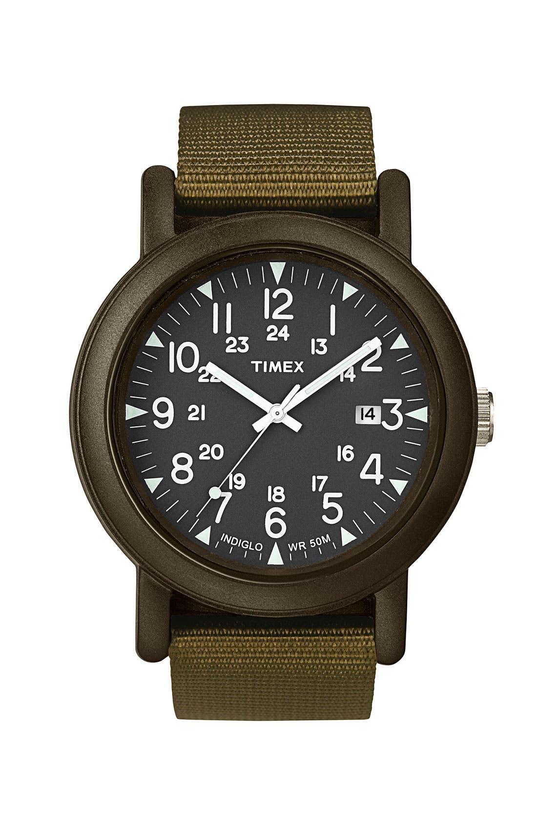 Alternate Image 1 Selected - Timex® 'Camper' Resin Watch