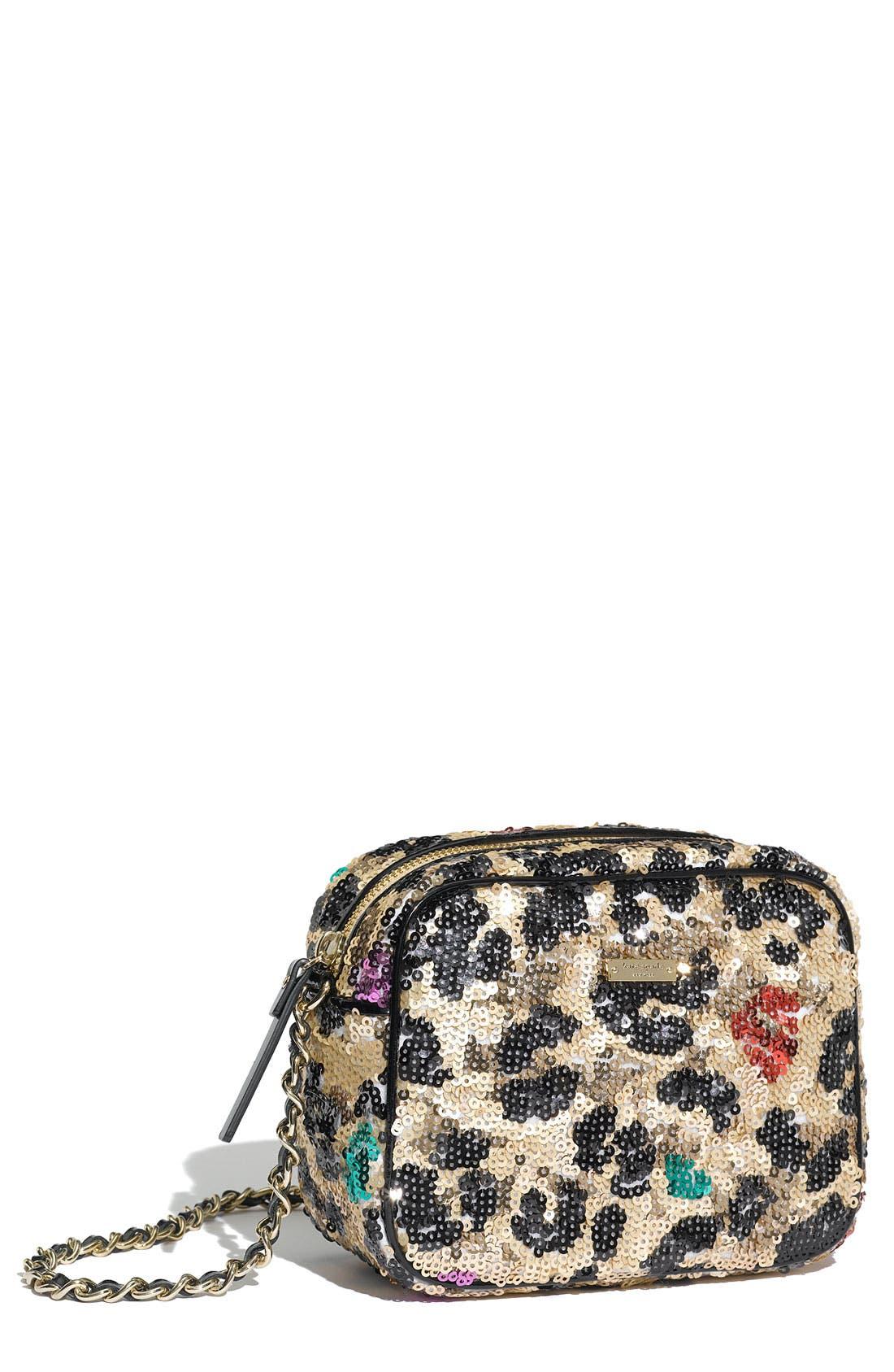 Alternate Image 1 Selected - kate spade new york 'lauralee' sequin crossbody bag