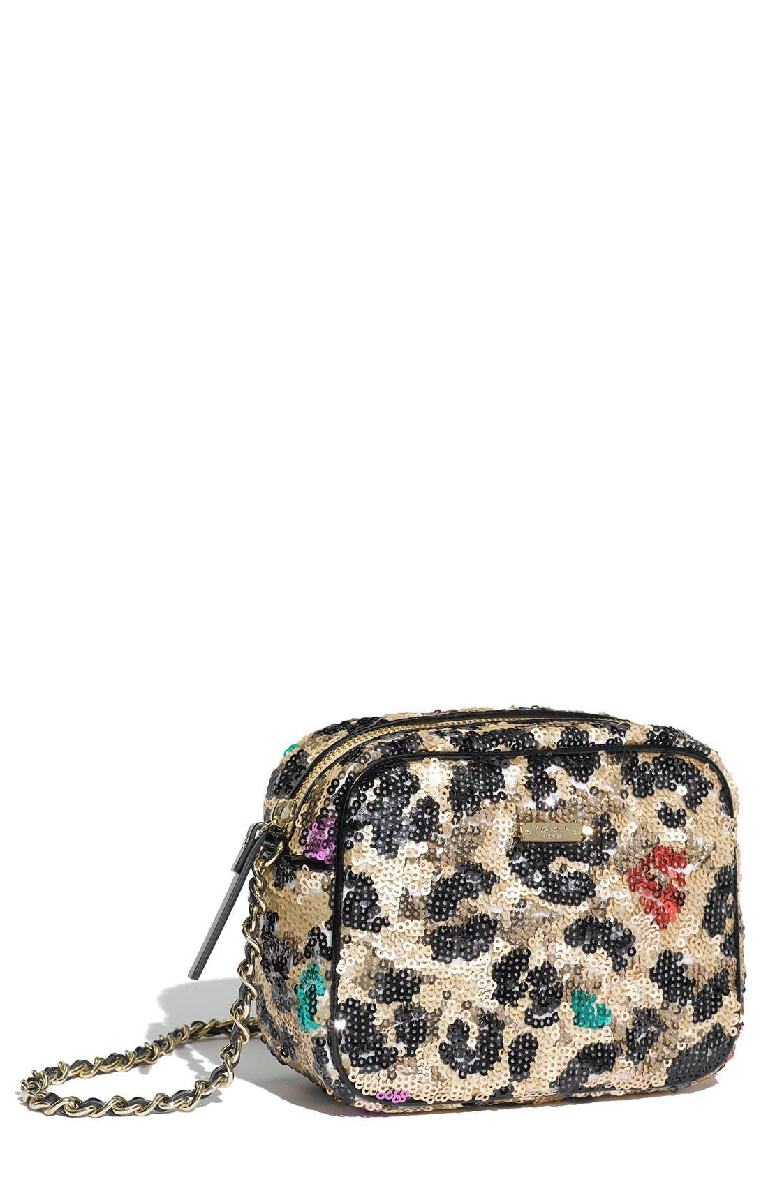 Main Image - kate spade new york 'lauralee' sequin crossbody bag