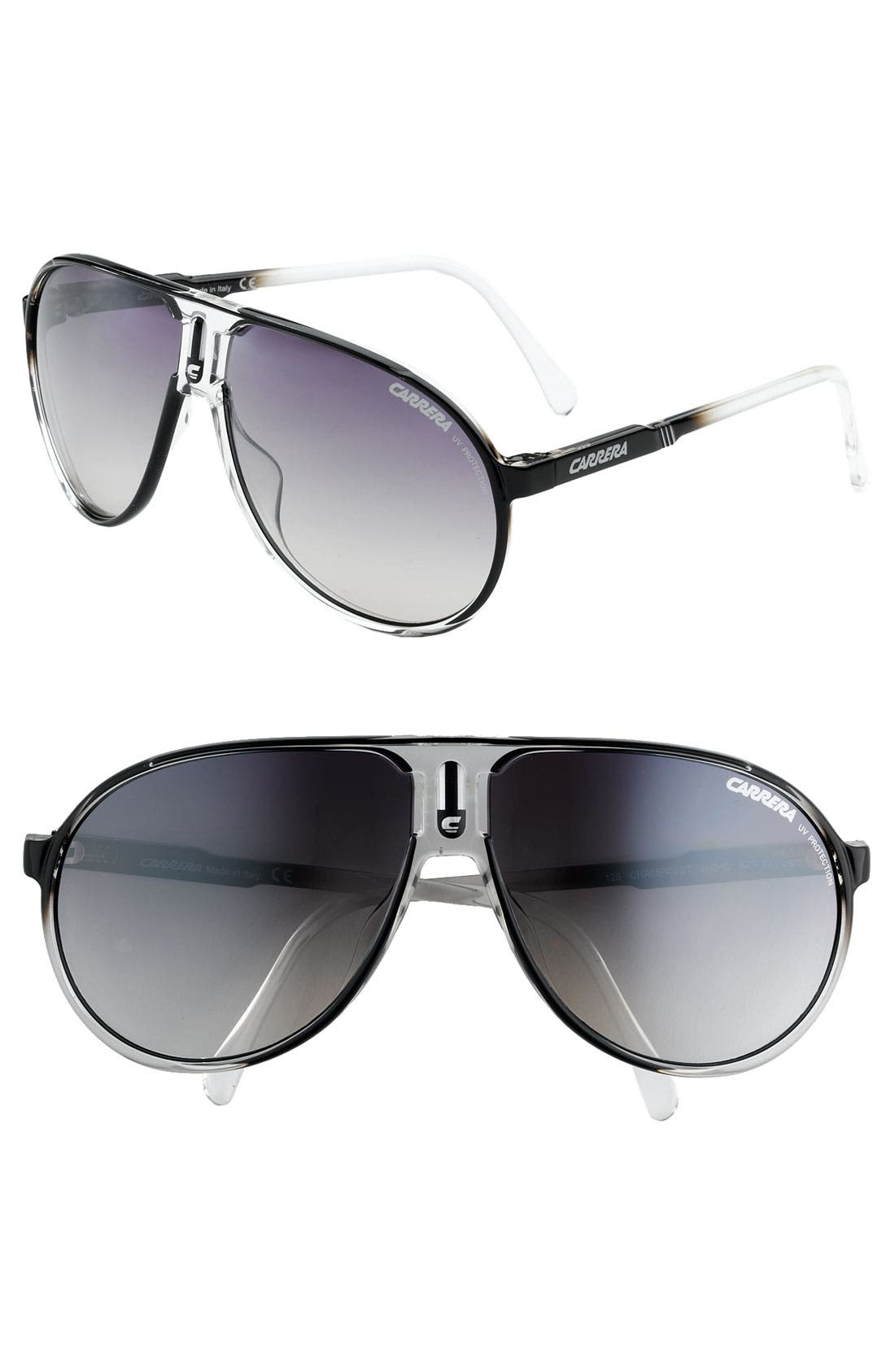 Alternate Image 1 Selected - Carrera Eyewear 'Champion' Aviator Sunglasses