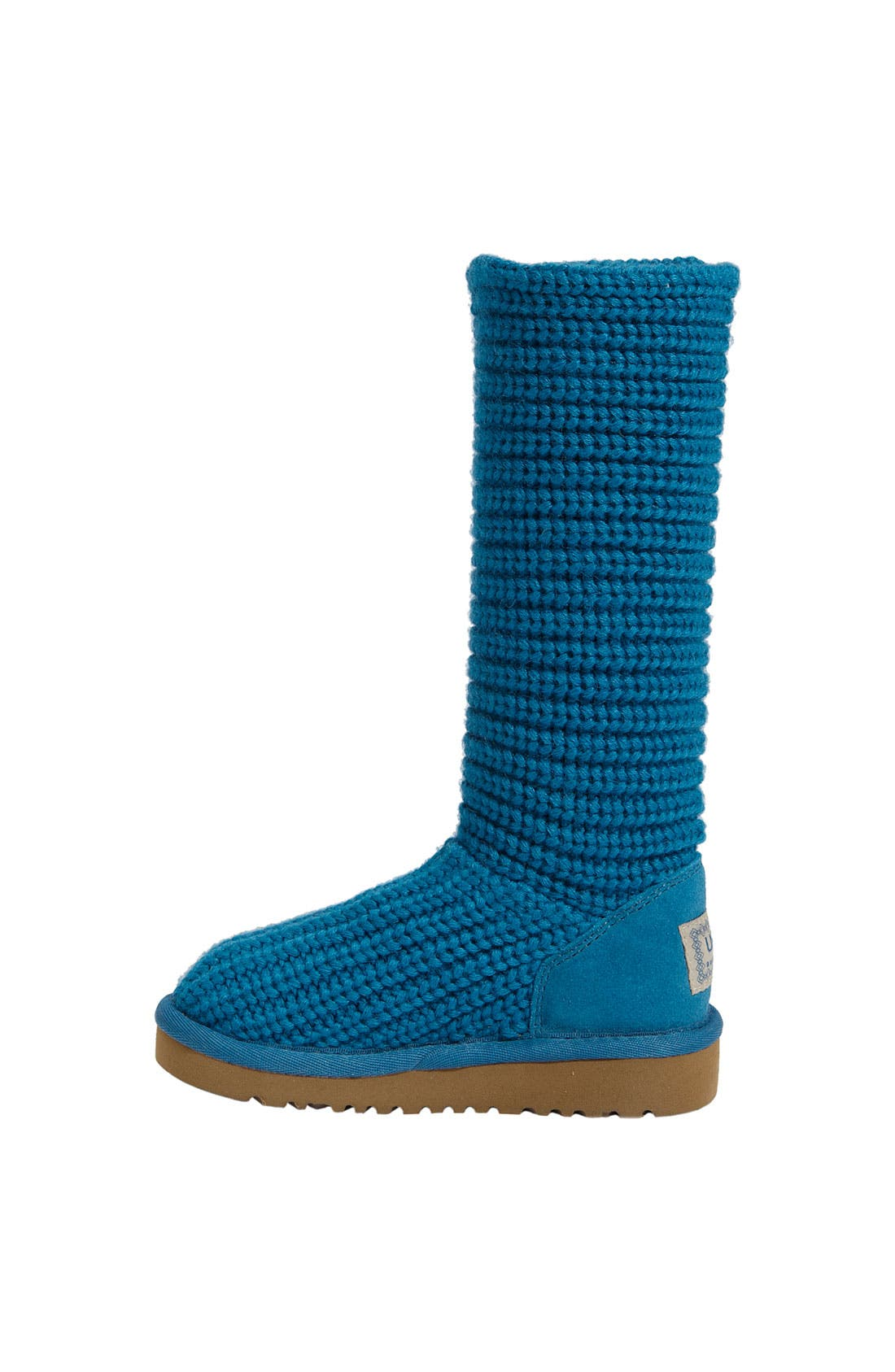 Alternate Image 2  - UGG® Australia 'Cardy II' Crochet Boot (Toddler, Little Kid & Big Kid)