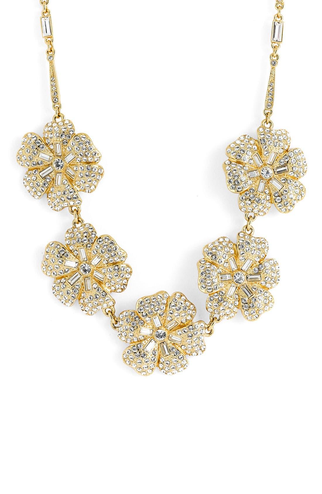 Main Image - kate spade new york 'pavé posey' necklace