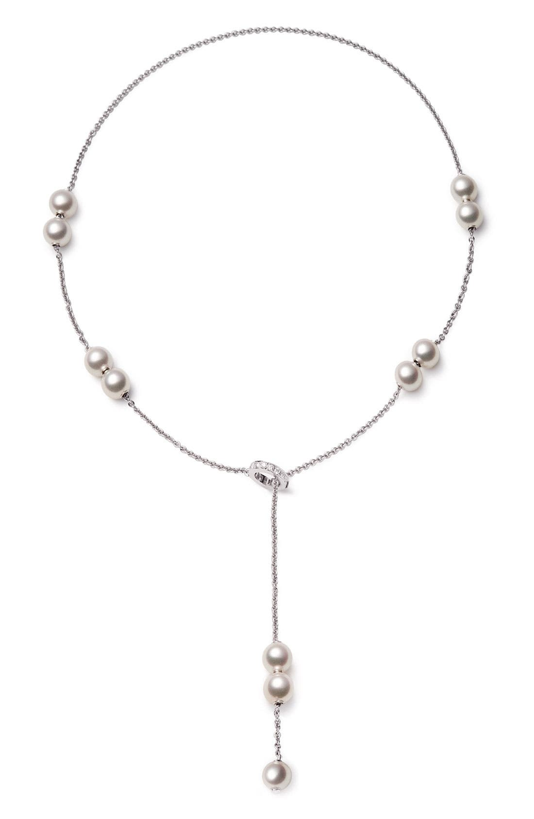 Alternate Image 2  - Mikimoto 'Pearls in Motion' Akoya Cultured Pearl Necklace