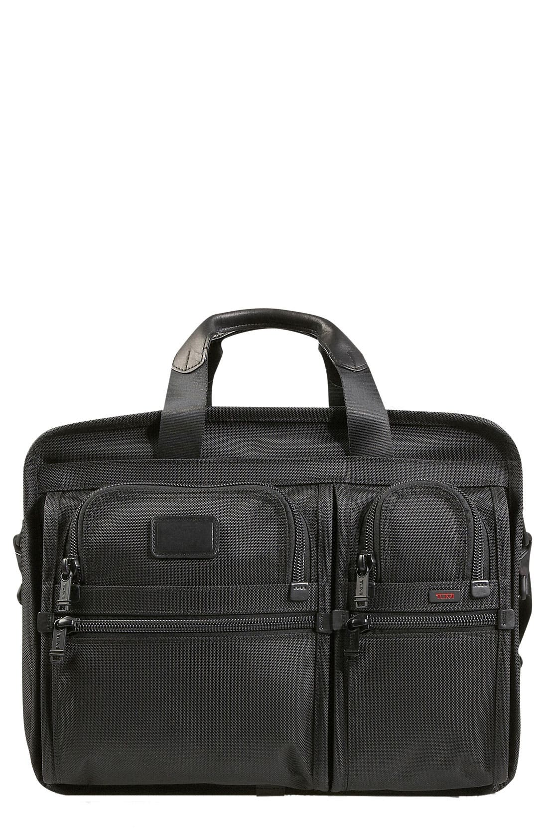 Alternate Image 1 Selected - Tumi 'Large Alpha' Expandable Organizer Computer Briefcase