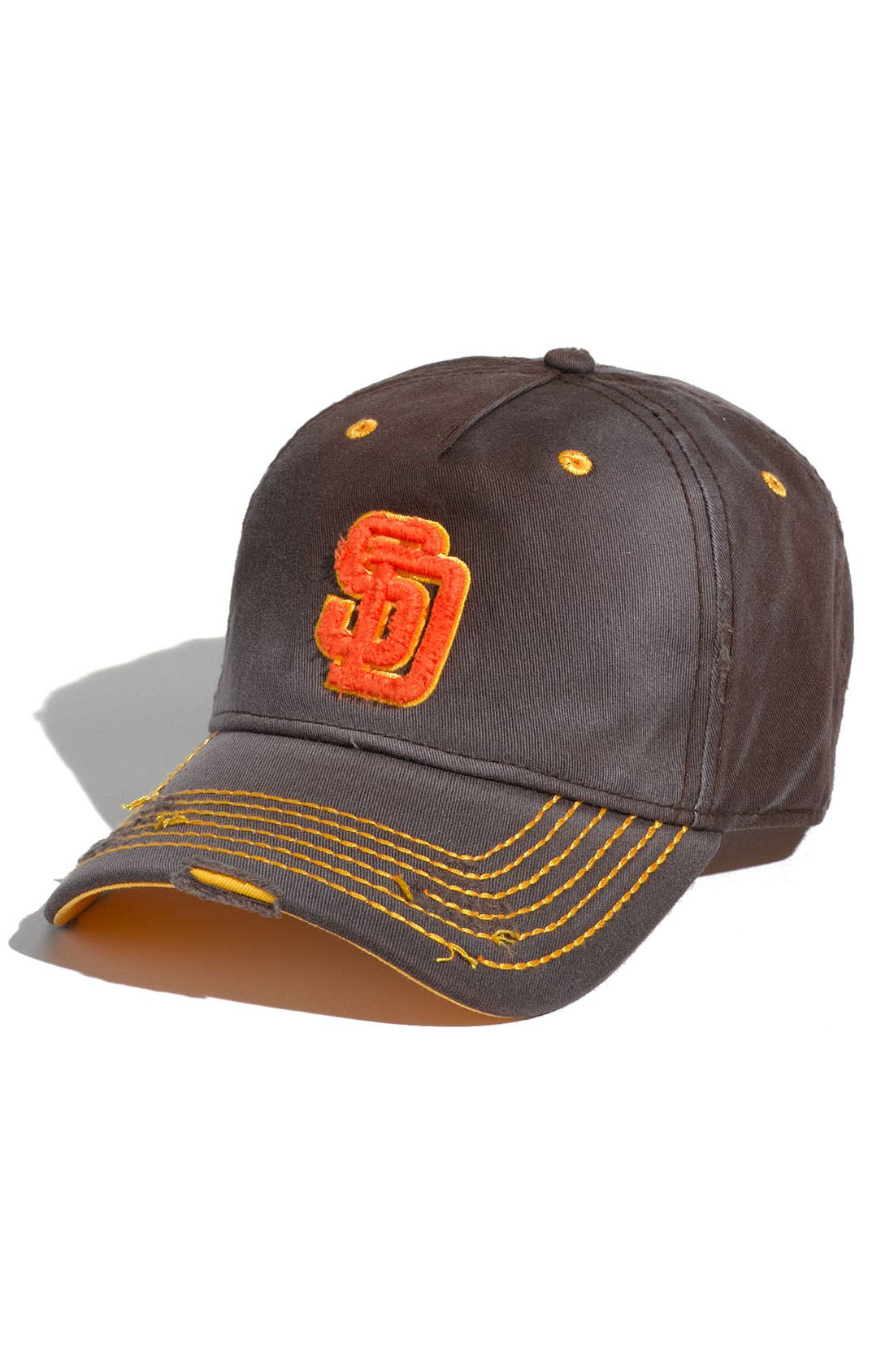 Alternate Image 1 Selected - American Needle 'San Diego Padres' Distressed Cap