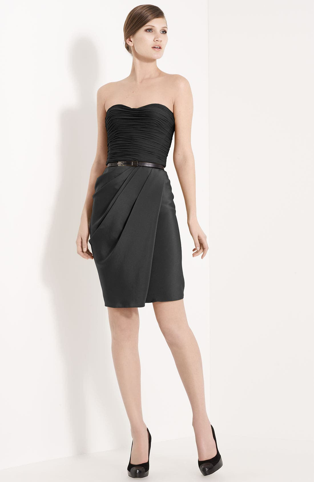 Alternate Image 1 Selected - Jason Wu Belted Strapless Dress