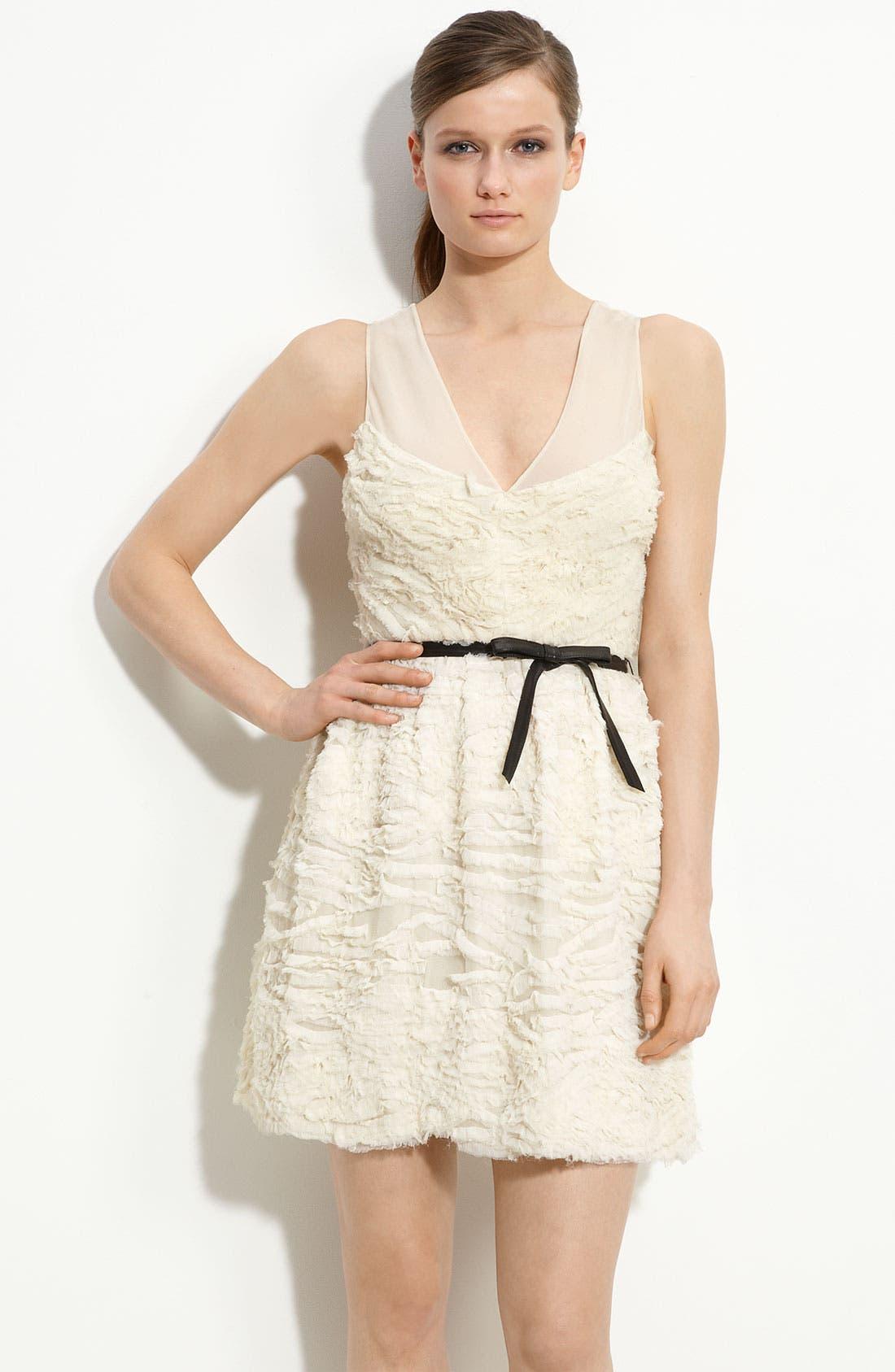 Alternate Image 1 Selected - Robert Rodriguez Crinkled Chiffon Dress