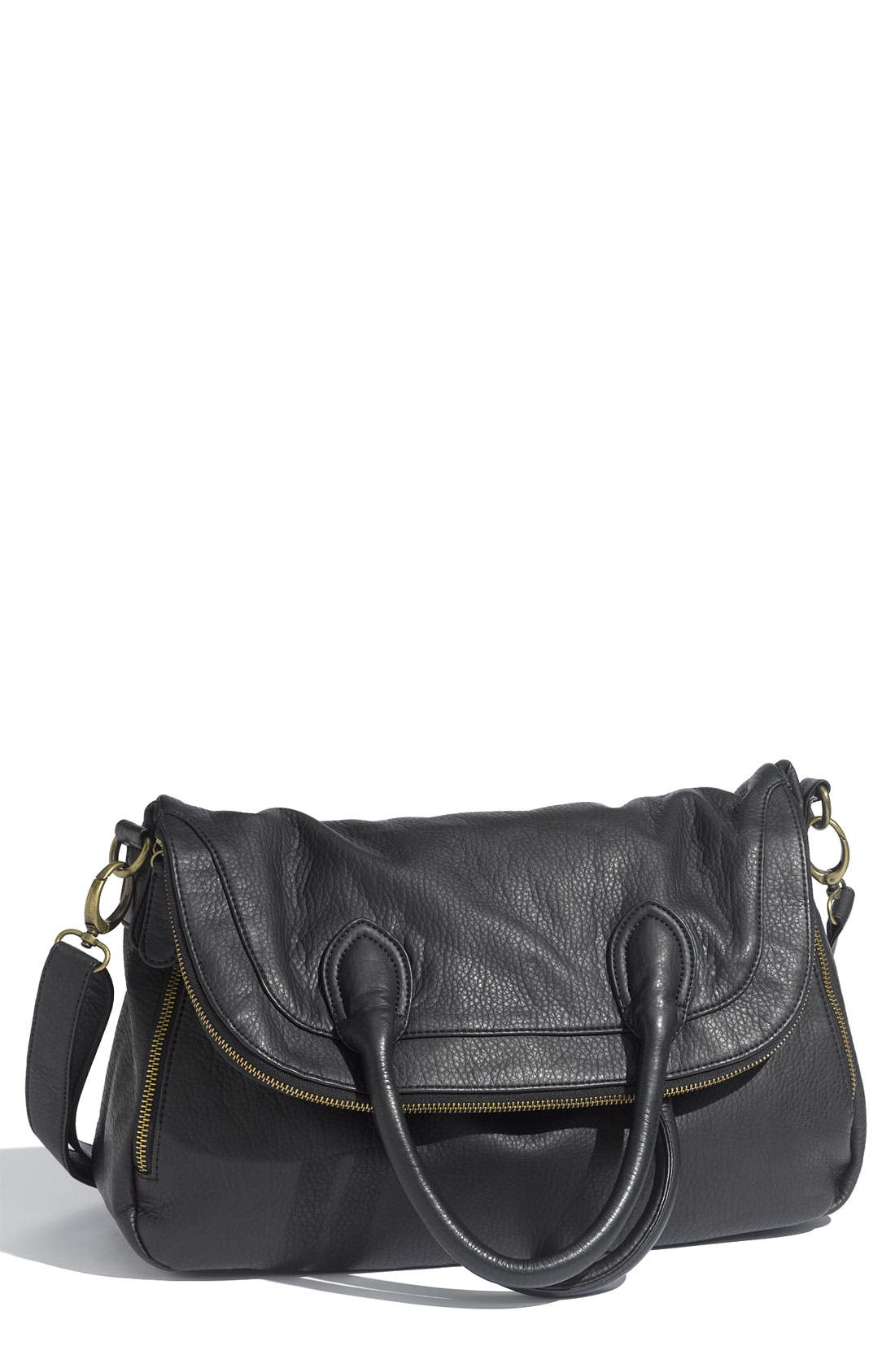 Alternate Image 1 Selected - Tulu Faux Leather Crossbody Bag (Nordstrom Exclusive)