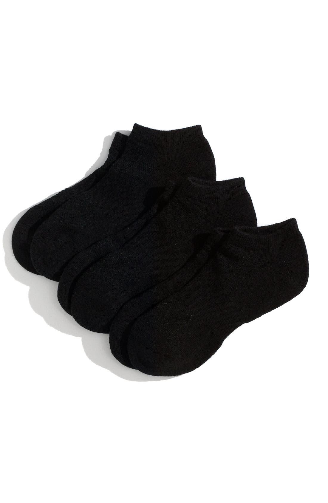 Alternate Image 1 Selected - Nordstrom Low Cut Active Socks (3-Pack)(Toddler, Little Boys & Big Boys)