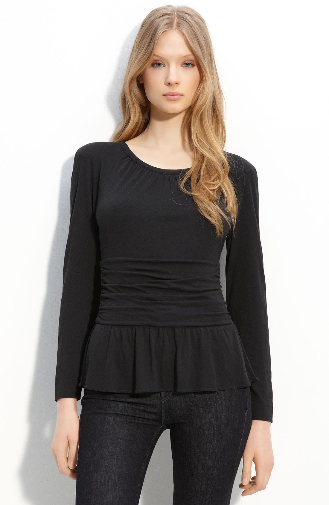 Main Image - MARC BY MARC JACOBS 'Feather' Jersey Knit Top
