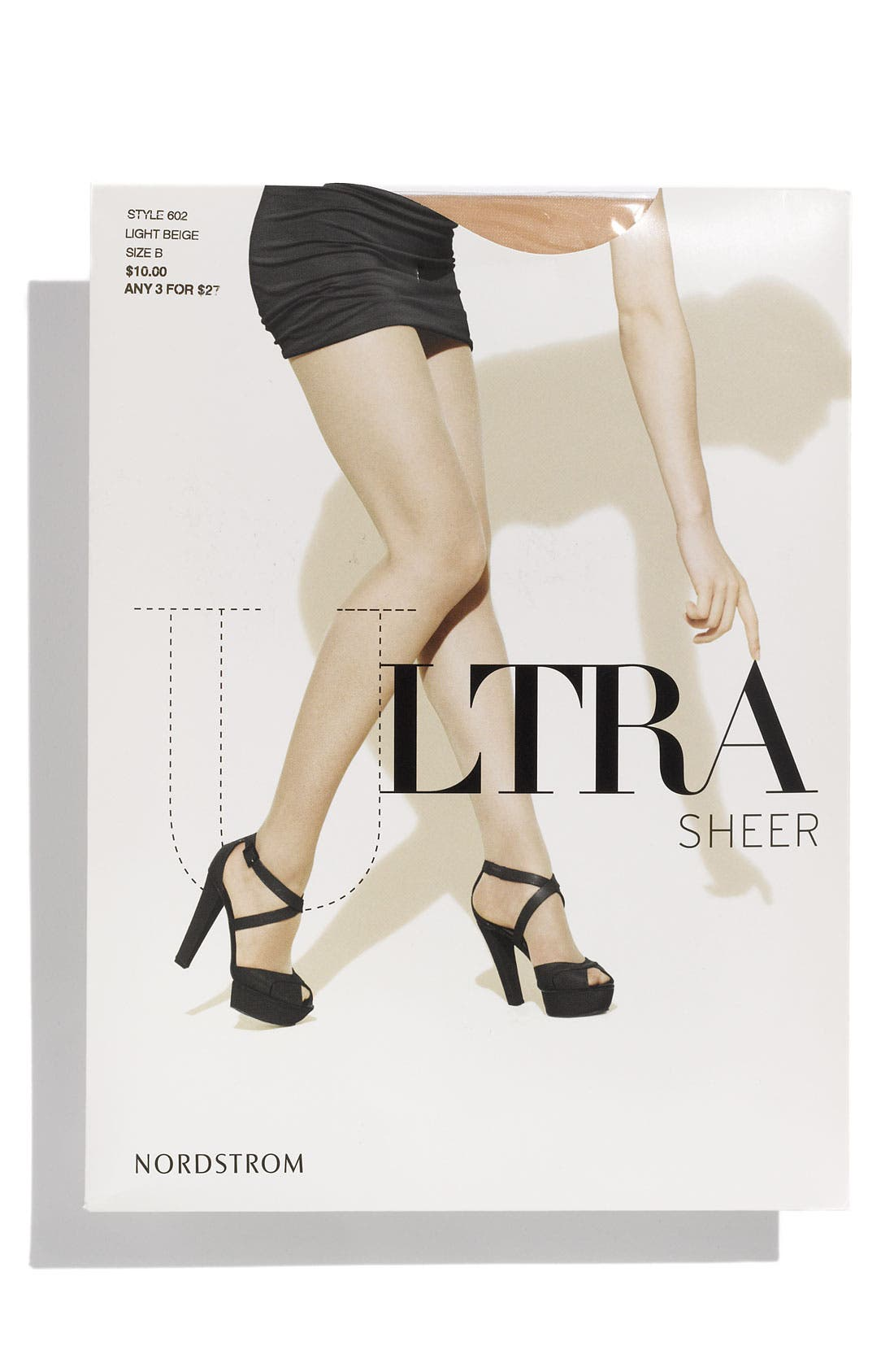 Alternate Image 1 Selected - Nordstrom Ultra Sheer Control Top