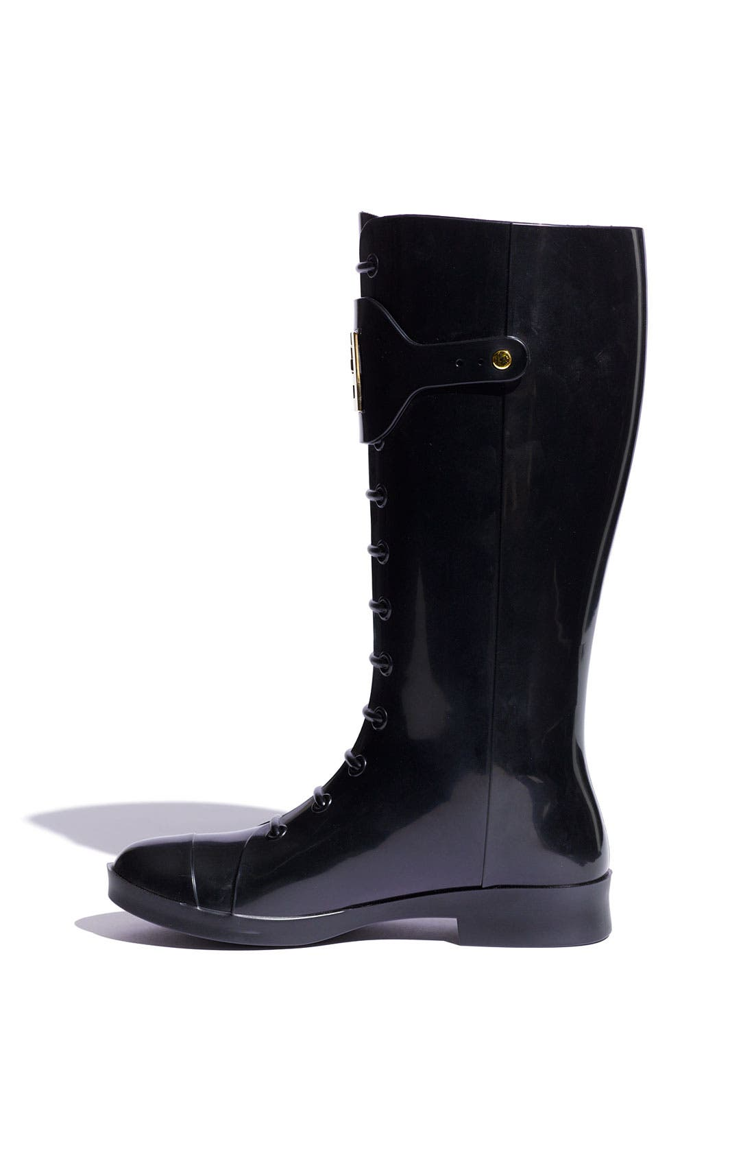 Alternate Image 2  - Fendi 'Berlin' Faux Lace-Up Rain Boot