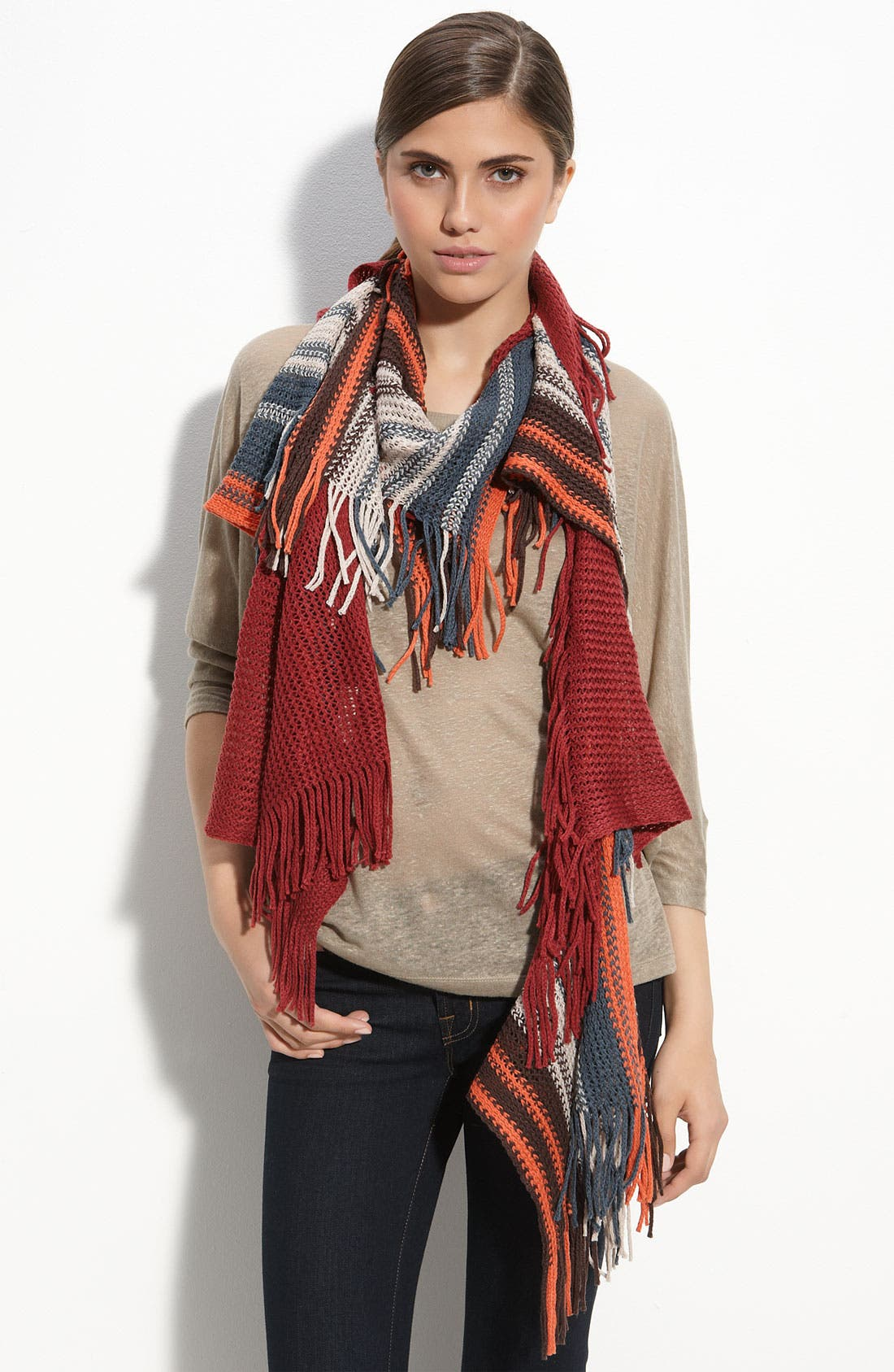 Alternate Image 1 Selected - Collection XIIX 'Tibetan Stripe' Scarf