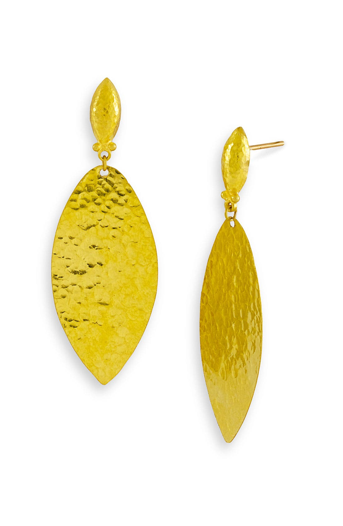 Main Image - Gurhan 'Willow' Medium Leaf Drop Earrings