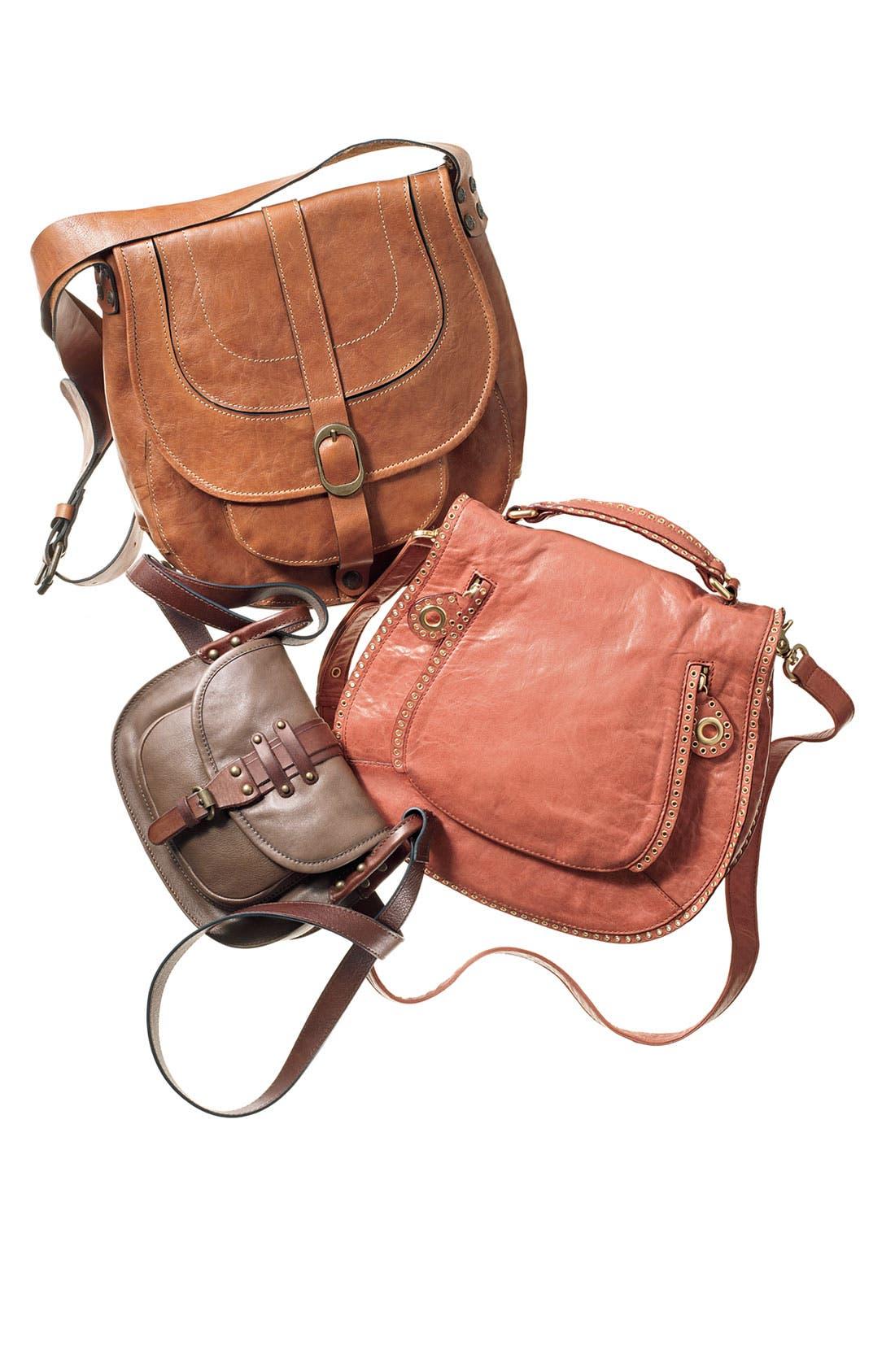 Alternate Image 5  - Rebecca Minkoff 'Vanity' Glazed Leather Crossbody Bag