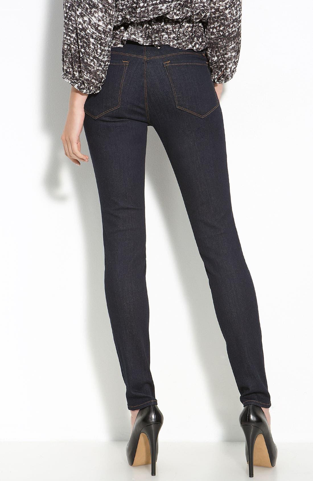 Alternate Image 2  - J Brand Skinny Stretch Jeans (Starless Wash)