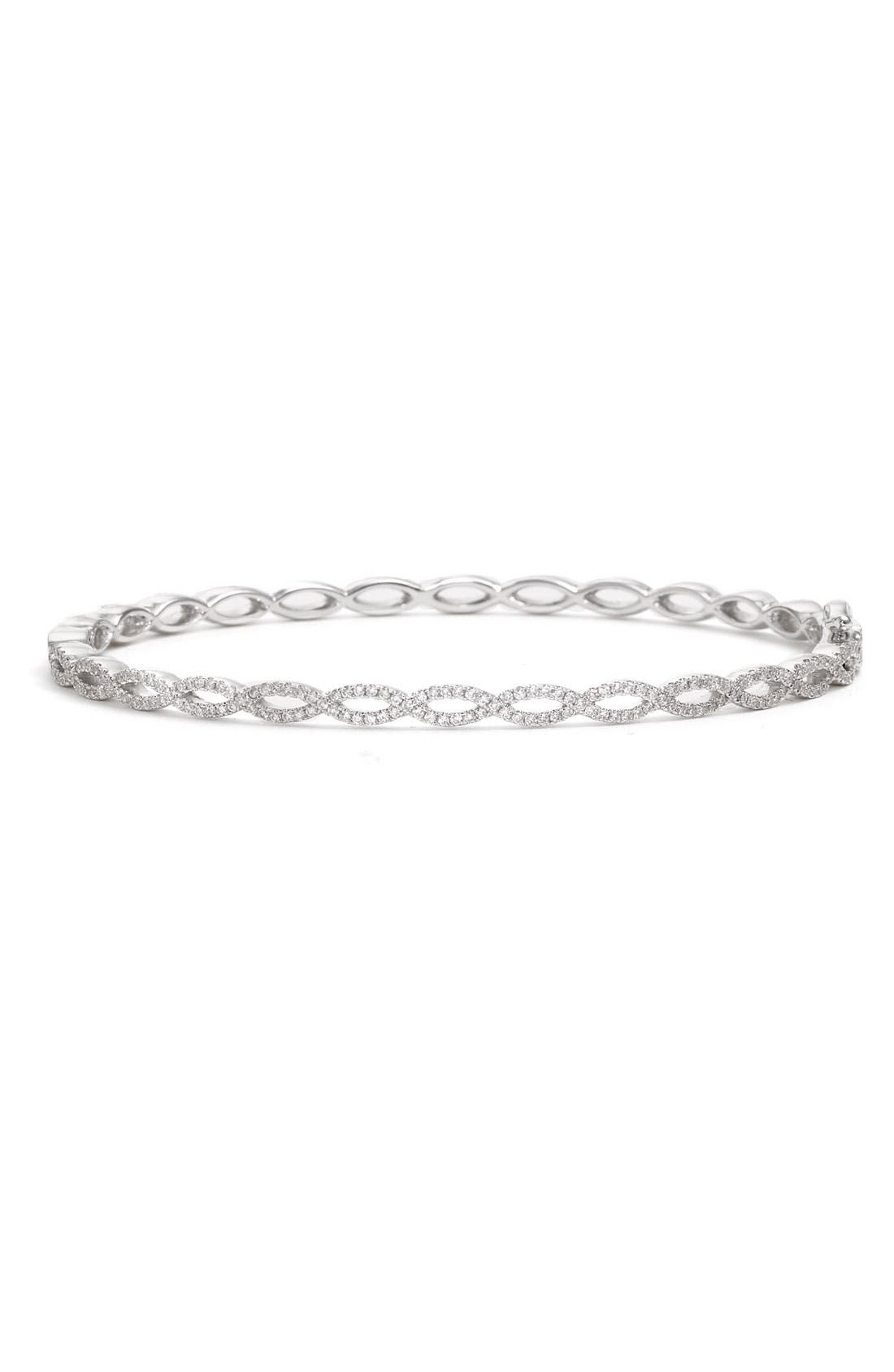 Alternate Image 1 Selected - Bony Levy Stackable Diamond Twist Bangle (Nordstrom Exclusive)