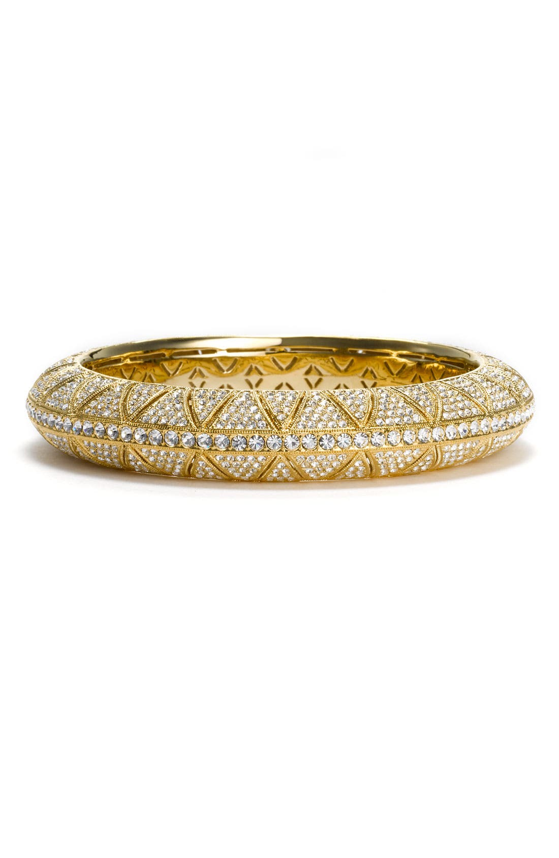 Alternate Image 1 Selected - Nadri 'Mosaica' Large Pavé Bangle (Nordstrom Exclusive)