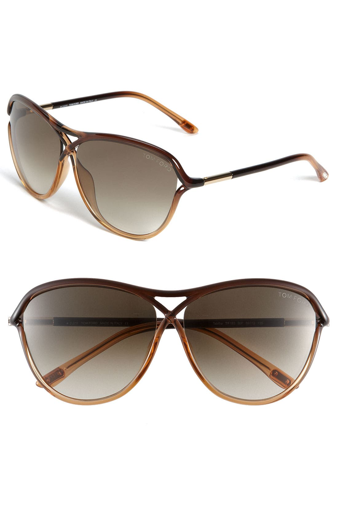 Alternate Image 1 Selected - Tom Ford 'Tabitha' Aviator Sunglasses