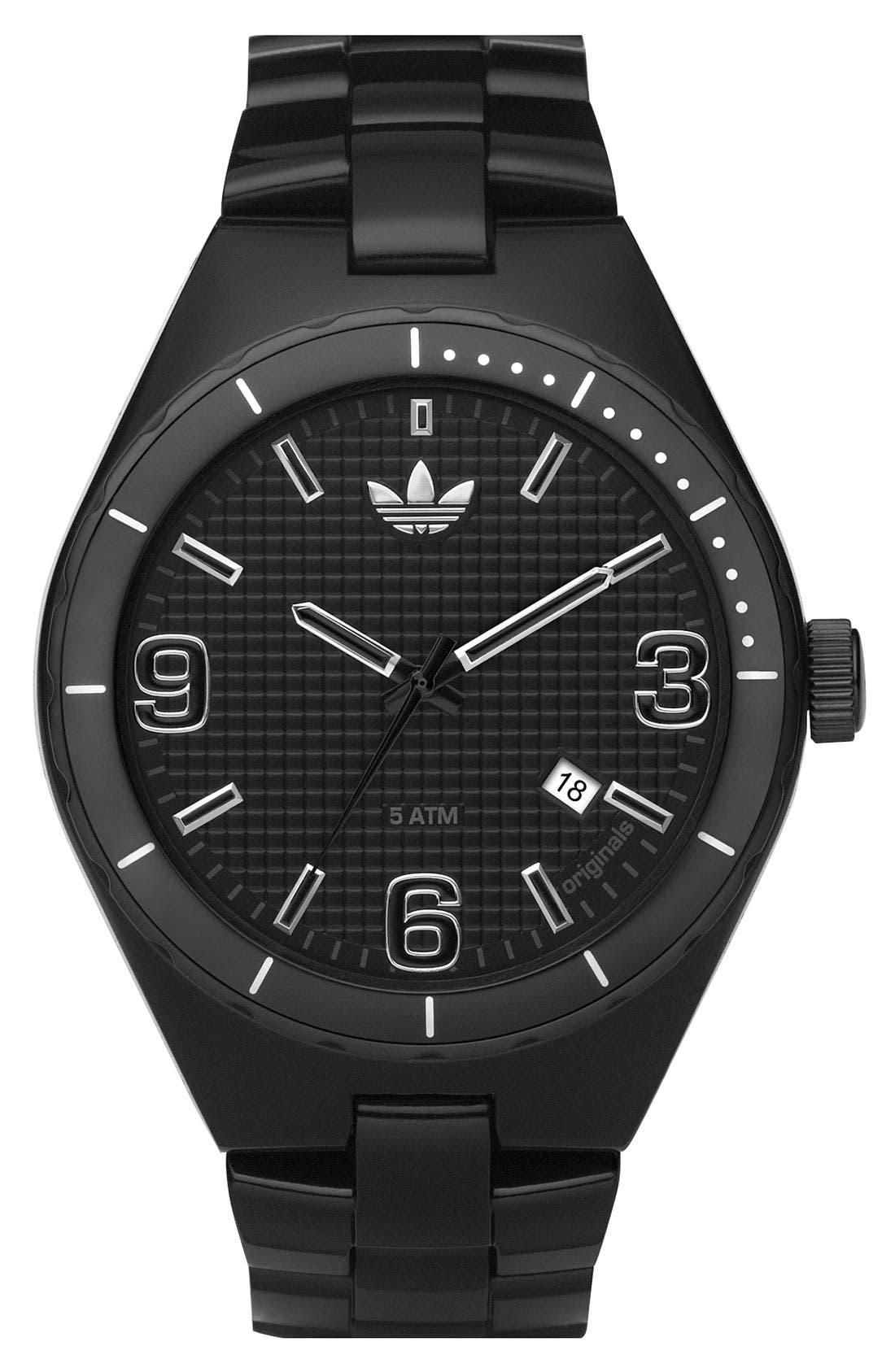 Alternate Image 1 Selected - adidas Originals 'Resin Cambridge' 44mm Watch