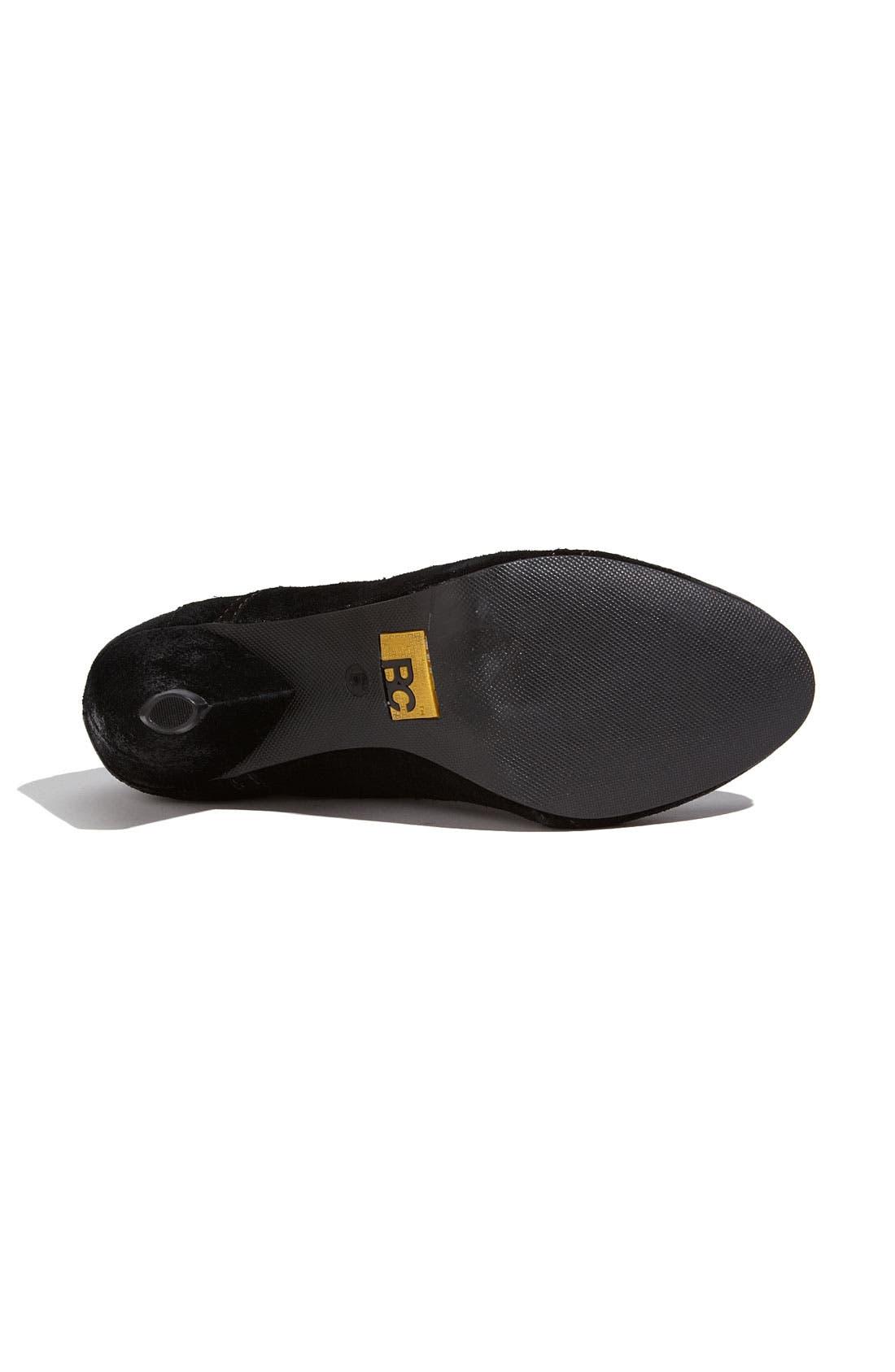 Alternate Image 4  - BC Footwear 'Foil' Oxford Pump