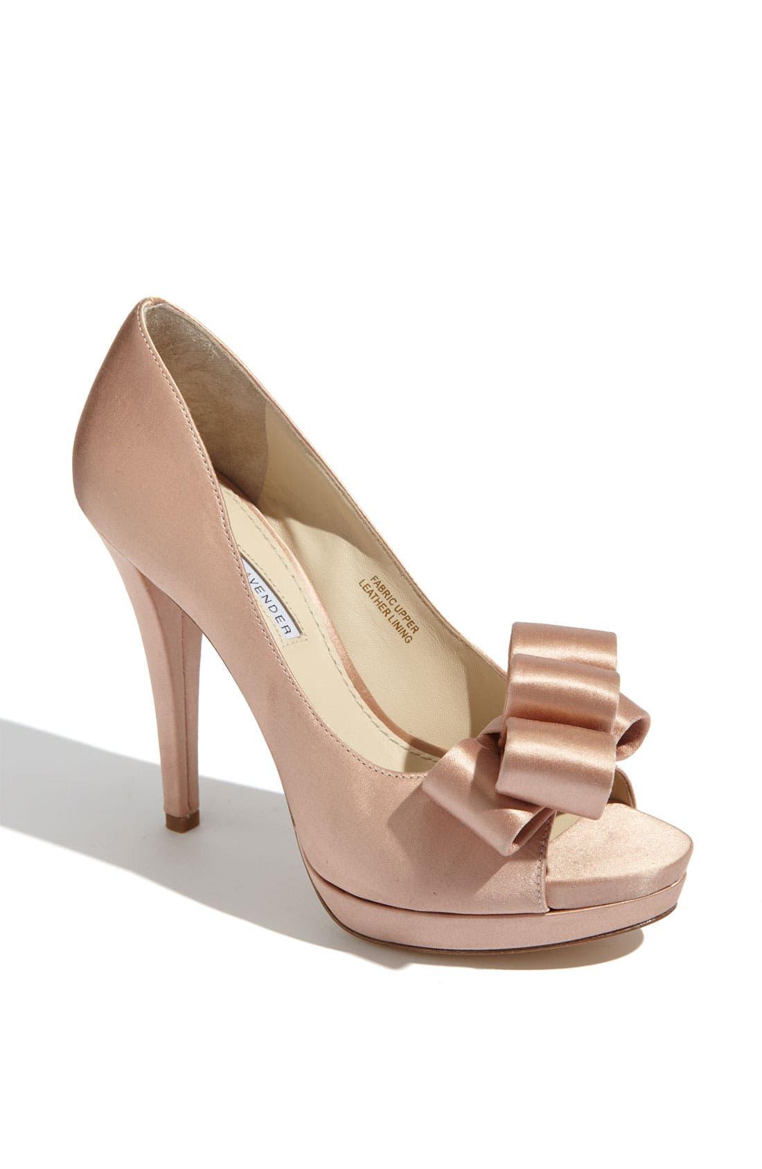 Alternate Image 1 Selected - Vera Wang Footwear 'Sammy' Peep Toe Pump