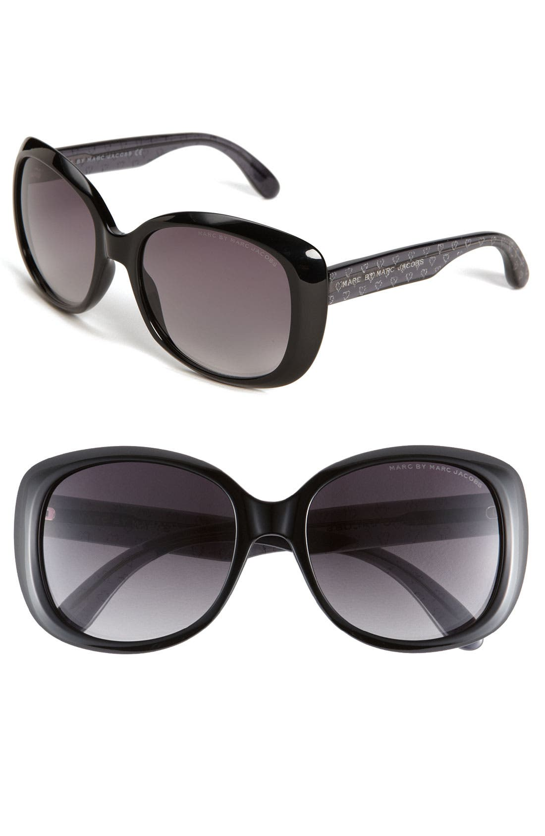 Alternate Image 1 Selected - MARC BY MARC JACOBS Oversized Sunglasses