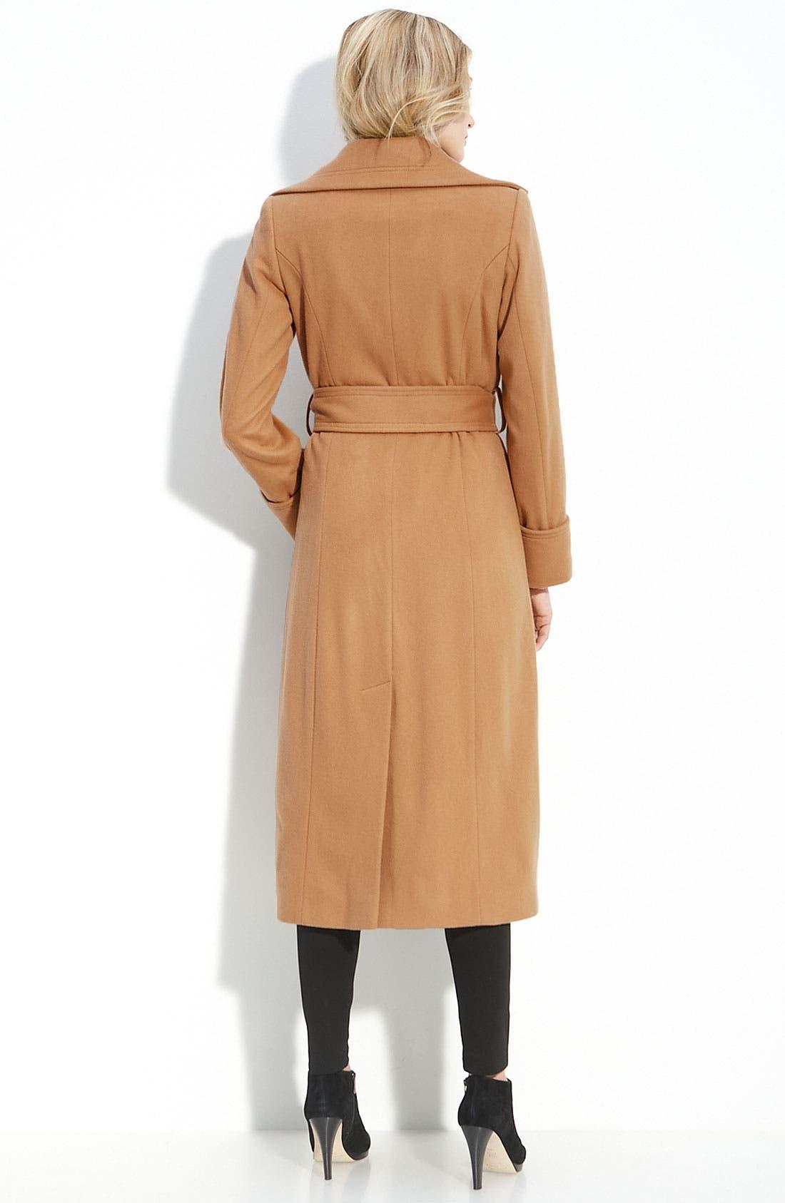 Alternate Image 2  - George Simonton Couture Long Wrap Coat