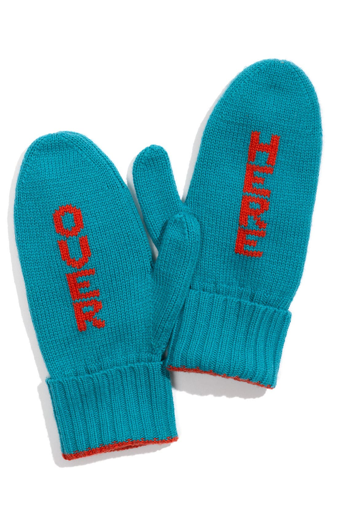 Main Image - kate spade new york 'over here' mittens